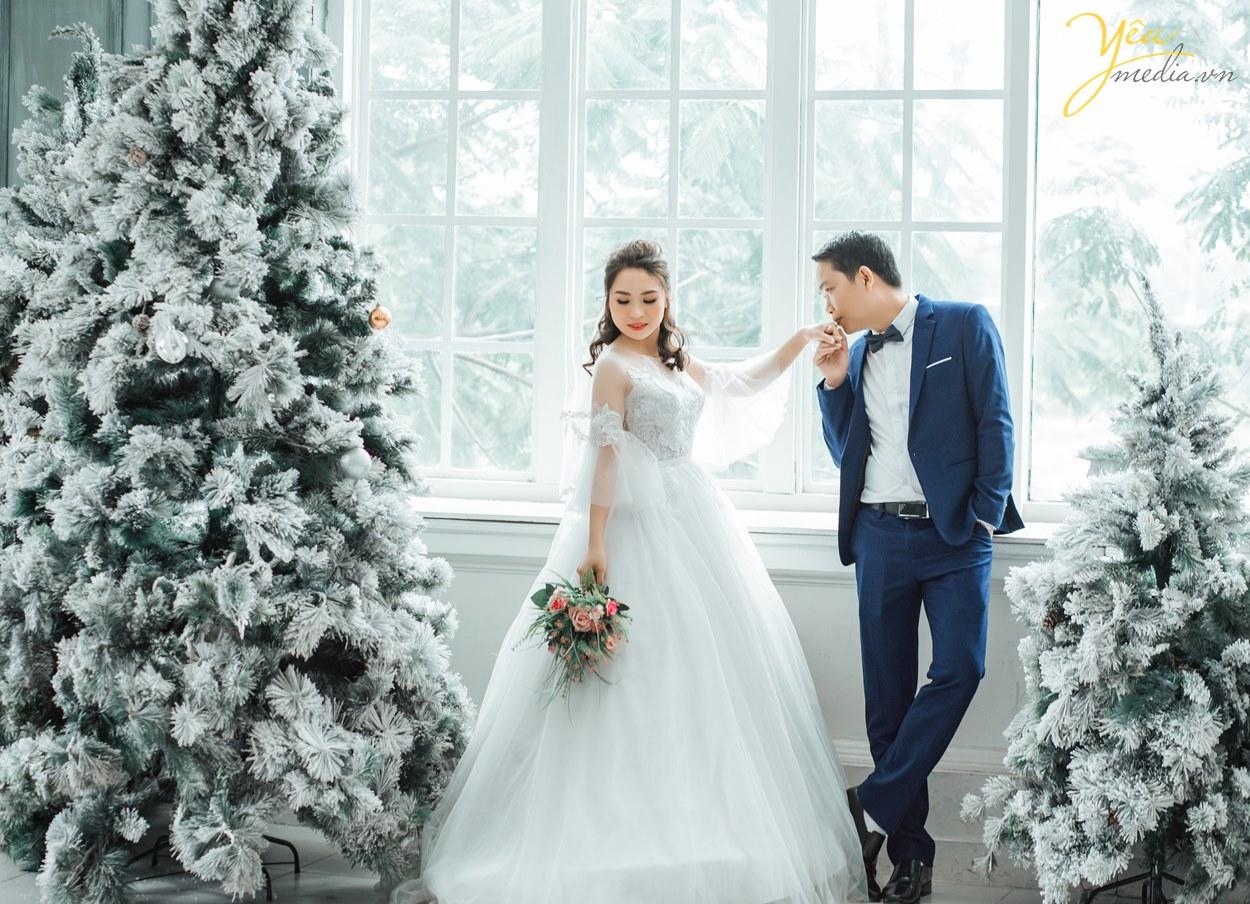 chụp ảnh cưới vào mùa đông cần lưu ý gì