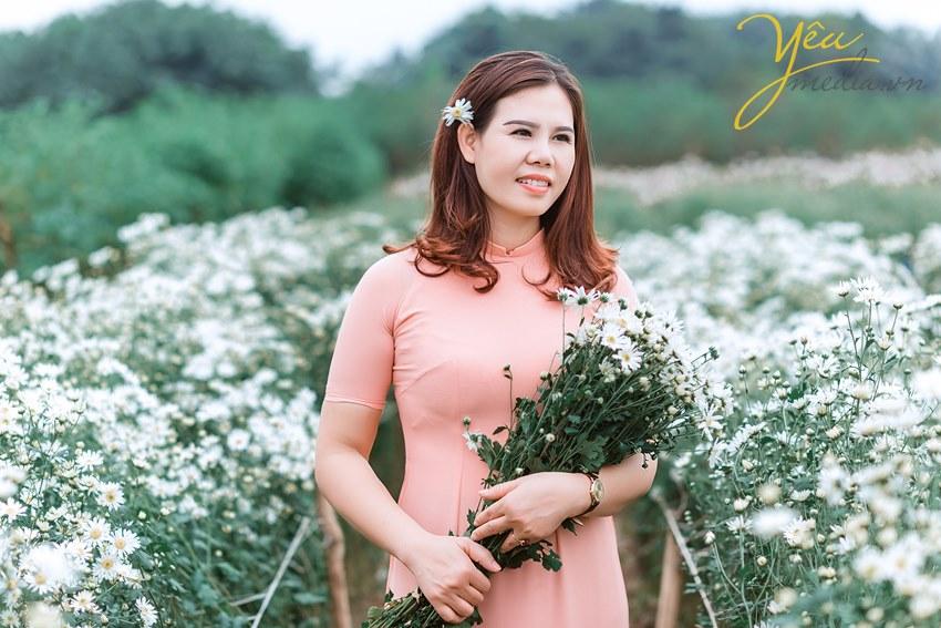 chụp ảnh tại vườn hoa bãi đá sông hồng cúc họa mi giá bao nhiêu tiền