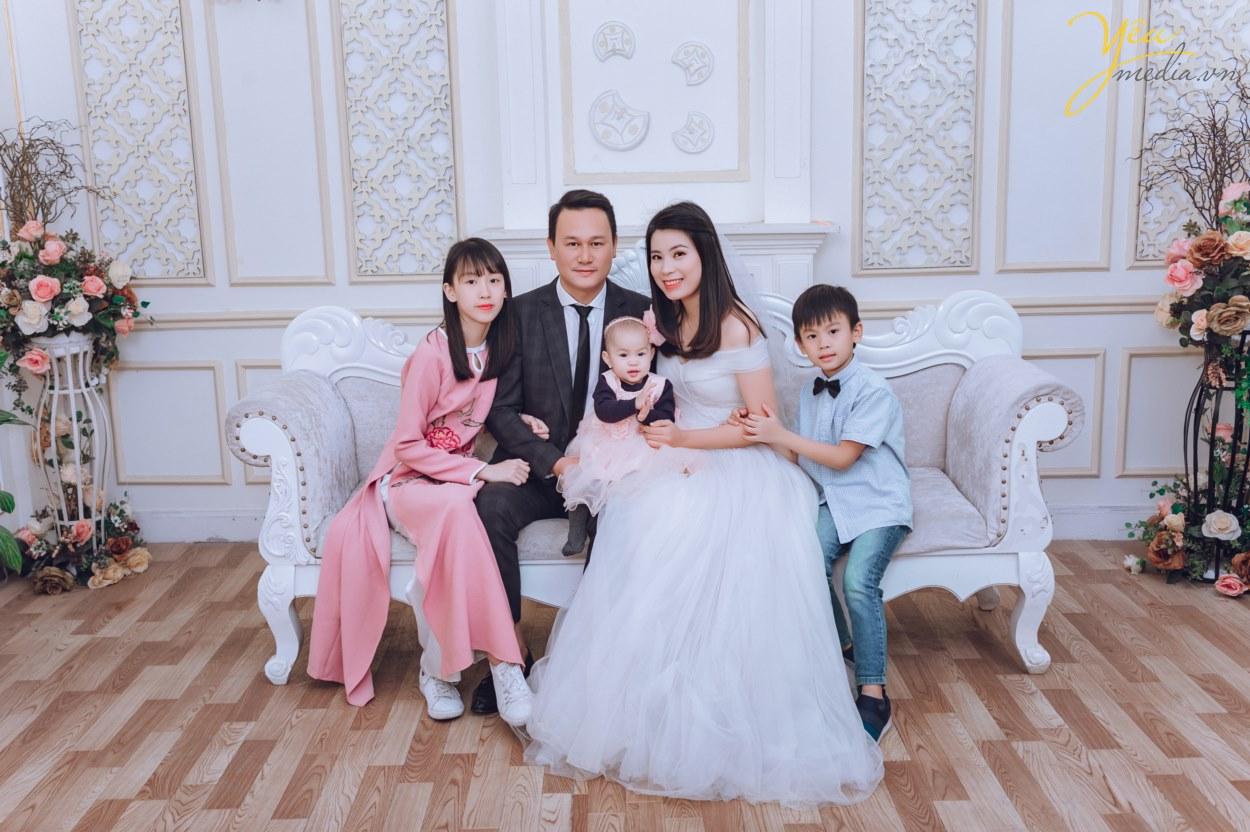 Chụp ảnh gia đình Đẹp tại HN | Ekip chuyên nghiệp, nhiệt tình