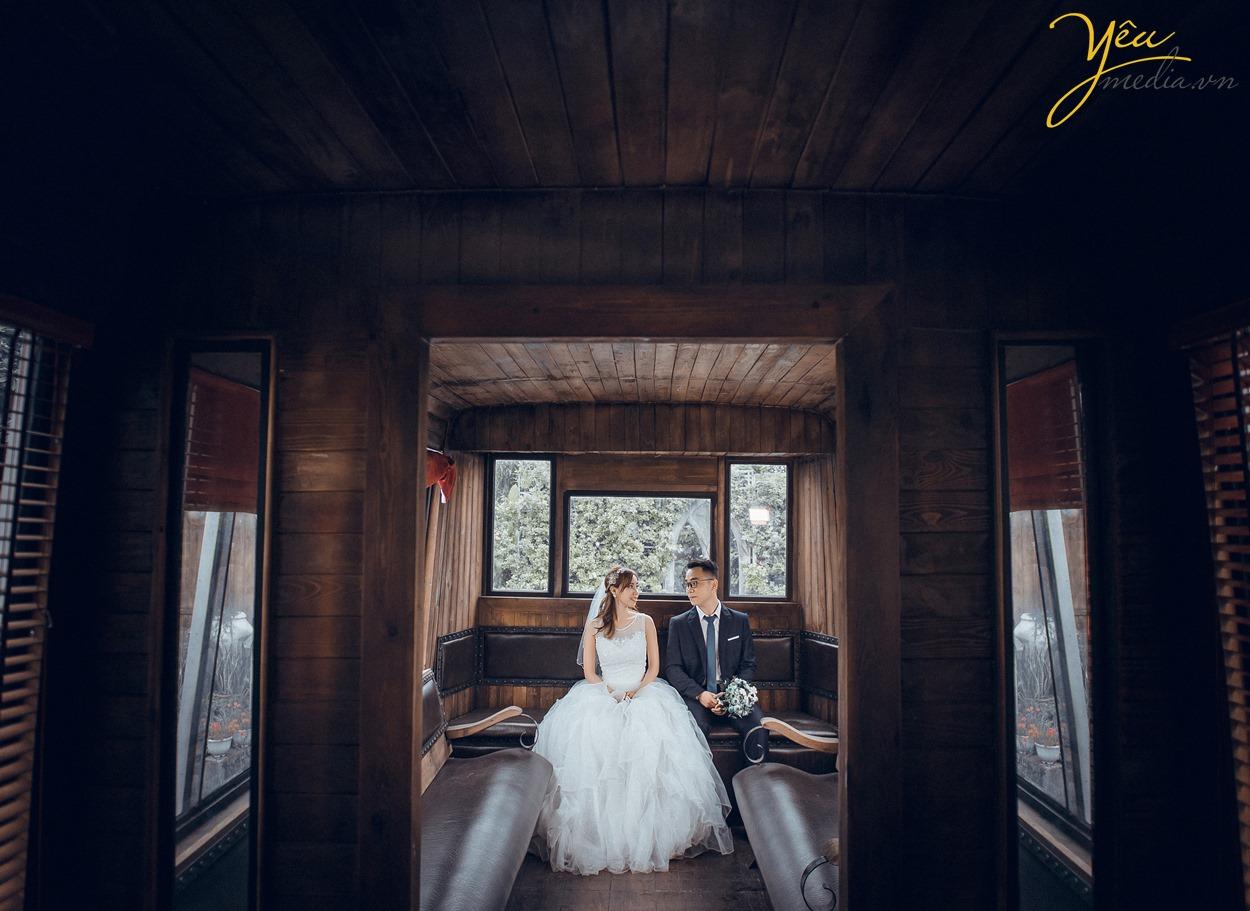 ảnh cưới chụp mẫu của studio ảnh viện yêu media