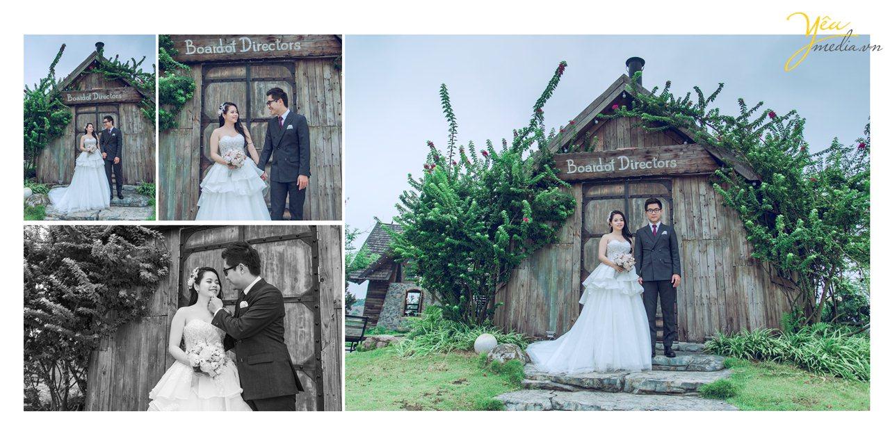 Kinh nghiệm chụp ảnh cưới phim trường