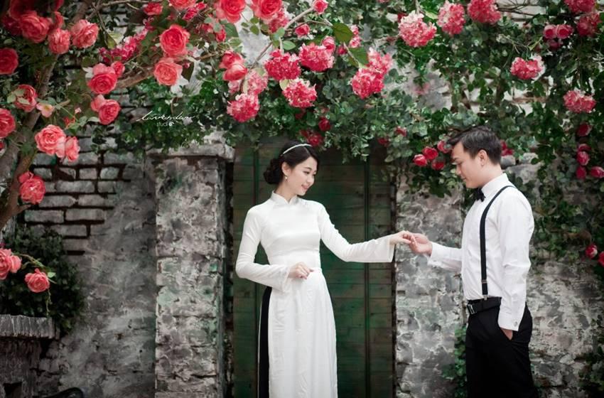 chụp ảnh cưới phong cách cổ điển