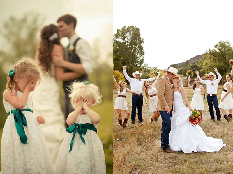 ý tưởng chụp ảnh cưới độc