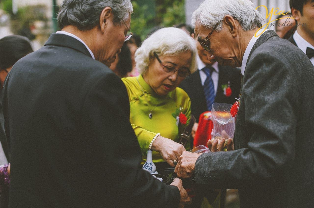 đám cưới truyền thống