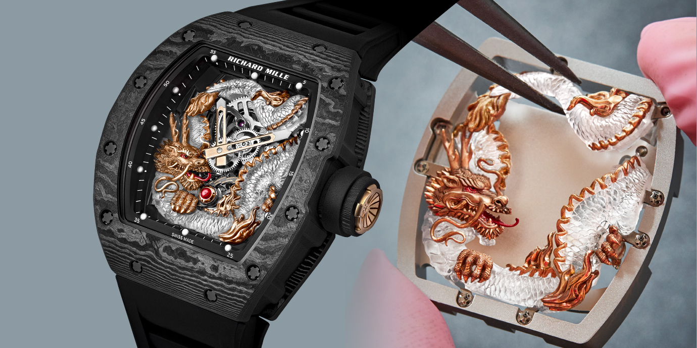 Review đồng hồ Richard Mille RM 57-03 Tourbillon Sapphire Dragon - Siêu phẩm rồng thiêng
