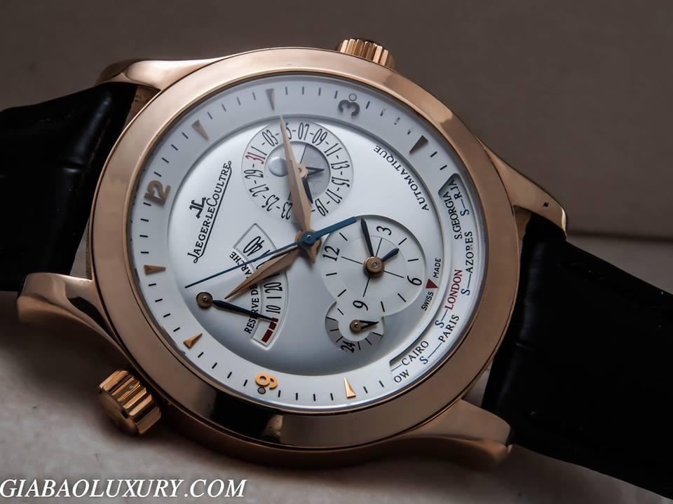 Review đồng hồ Jaeger-Lecoultre Master Geographic Rose Gold 18k