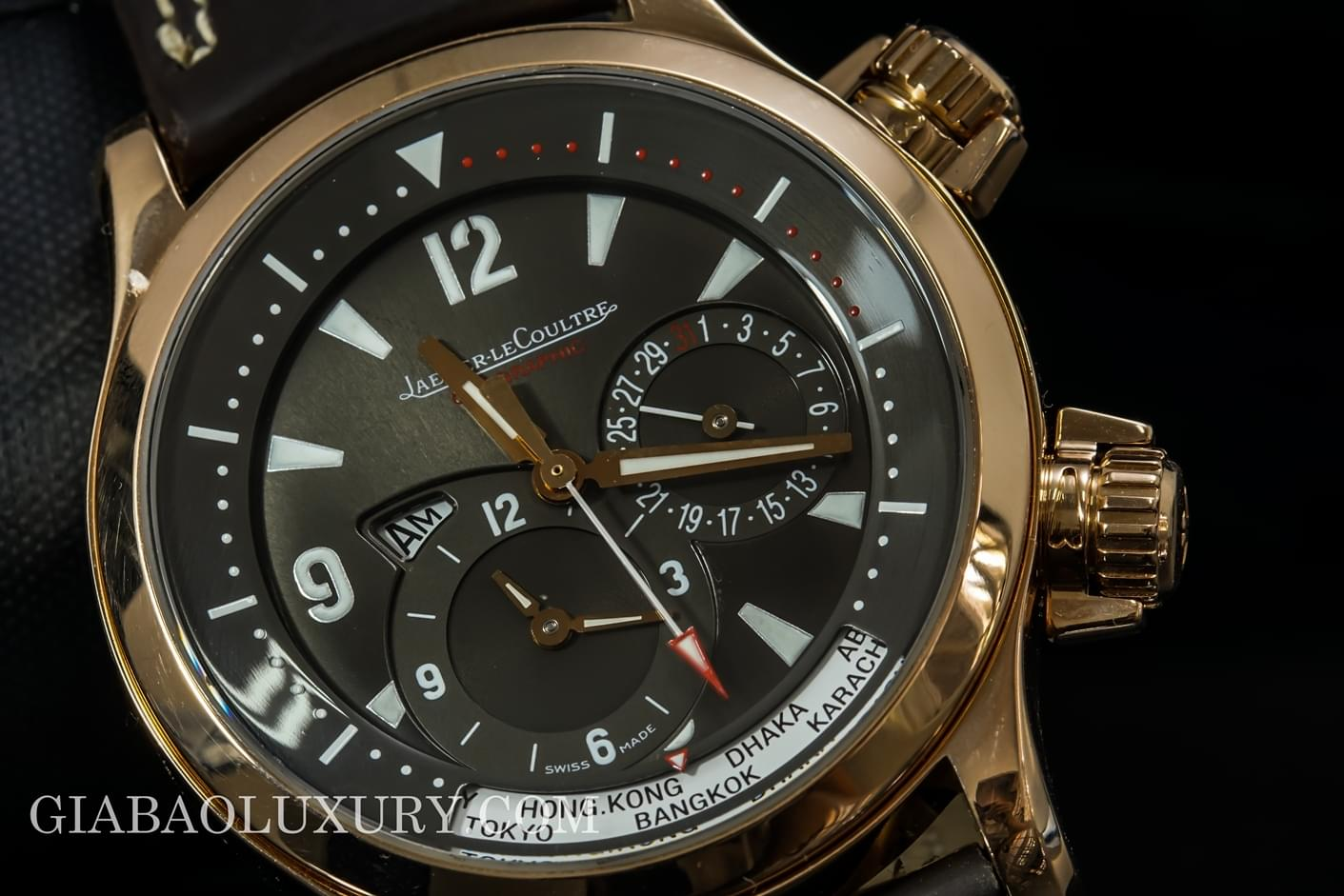 Review đồng hồ Jaeger-Lecoultre Master Compressor