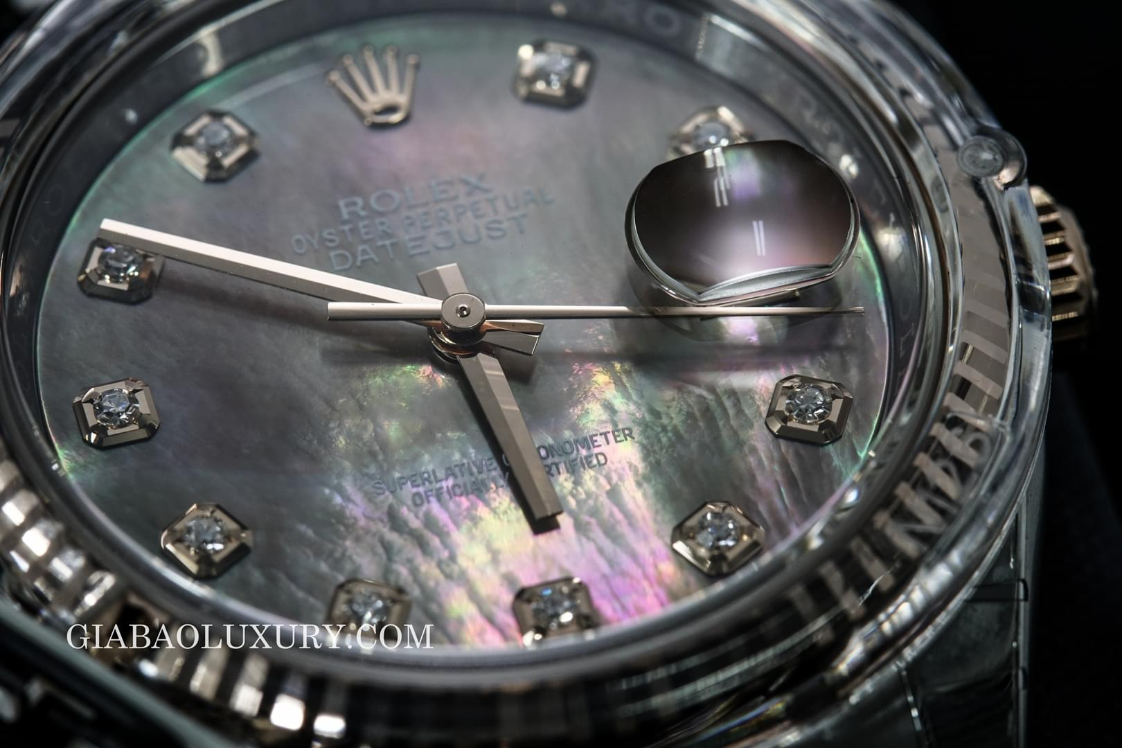 "Review đồng hồ Rolex Datejust ""Mother Of Pearl"""
