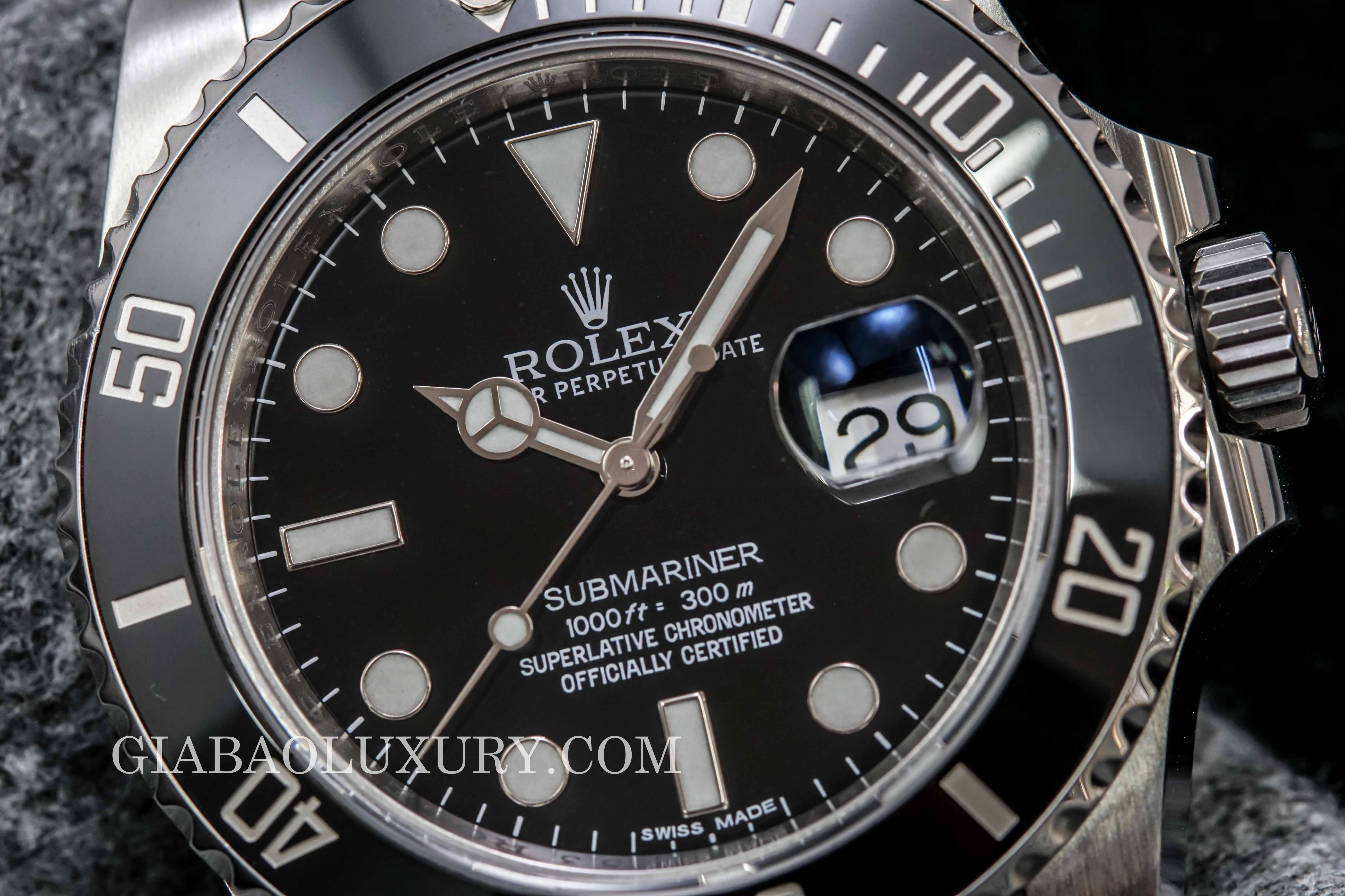 Review đồng hồ Rolex Submariner Date 116610LN