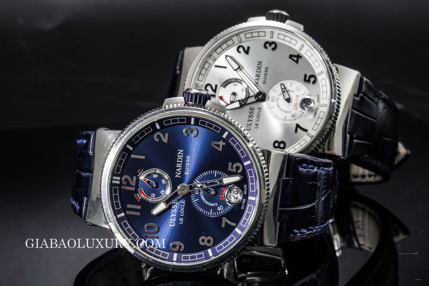 Review 2 chiếc đồng hồ Ulysse Nardin Marine Chronometer Manufacture
