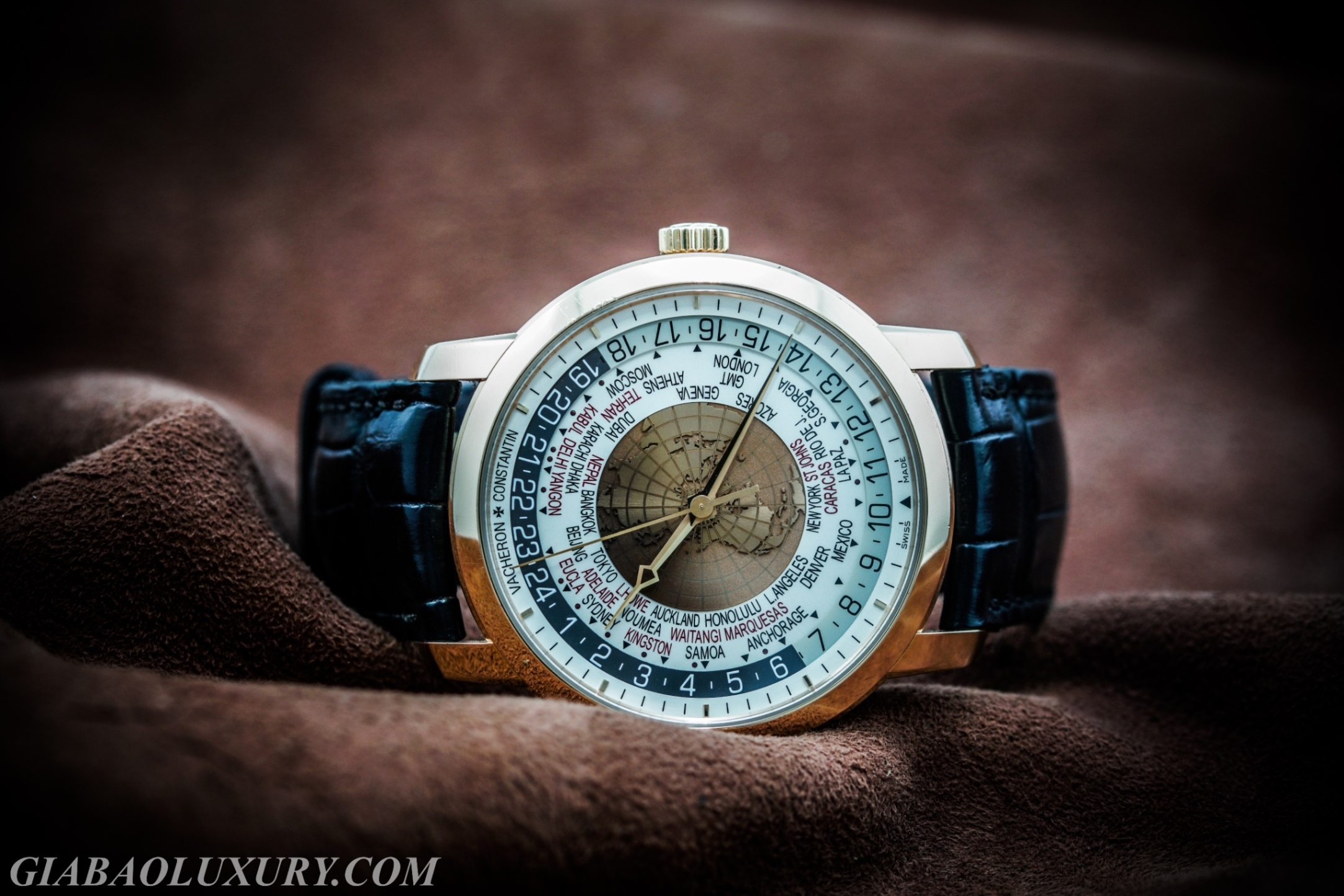 Review đồng hồ Vacheron Constantin Traditionnelle World Time