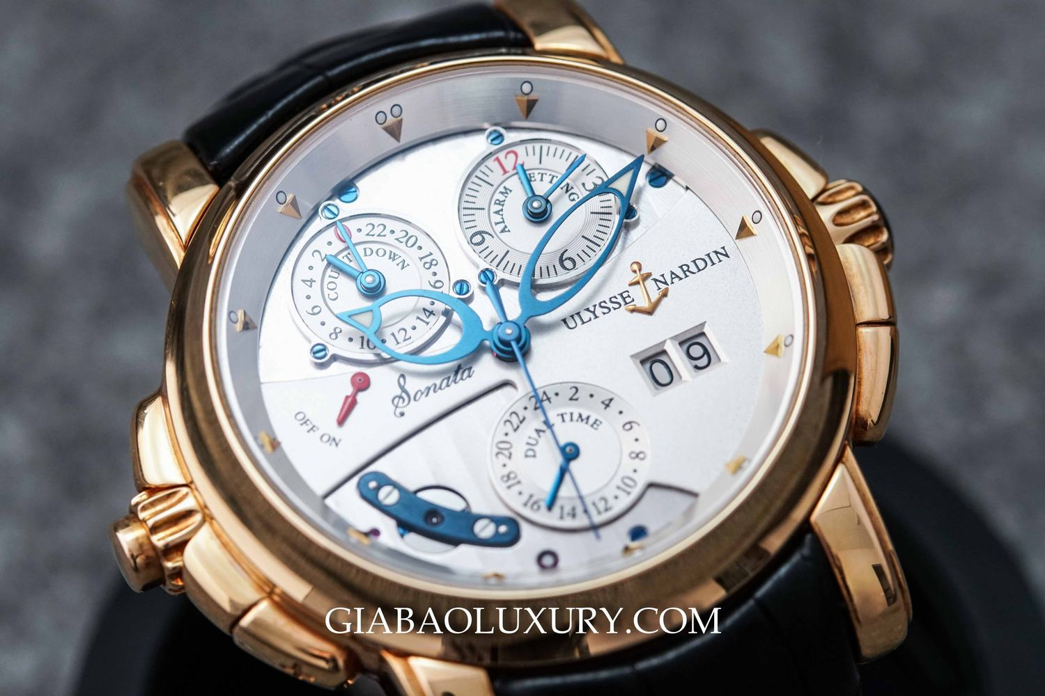Review đồng hồ Ulysse Nardin Sonata Cathedral
