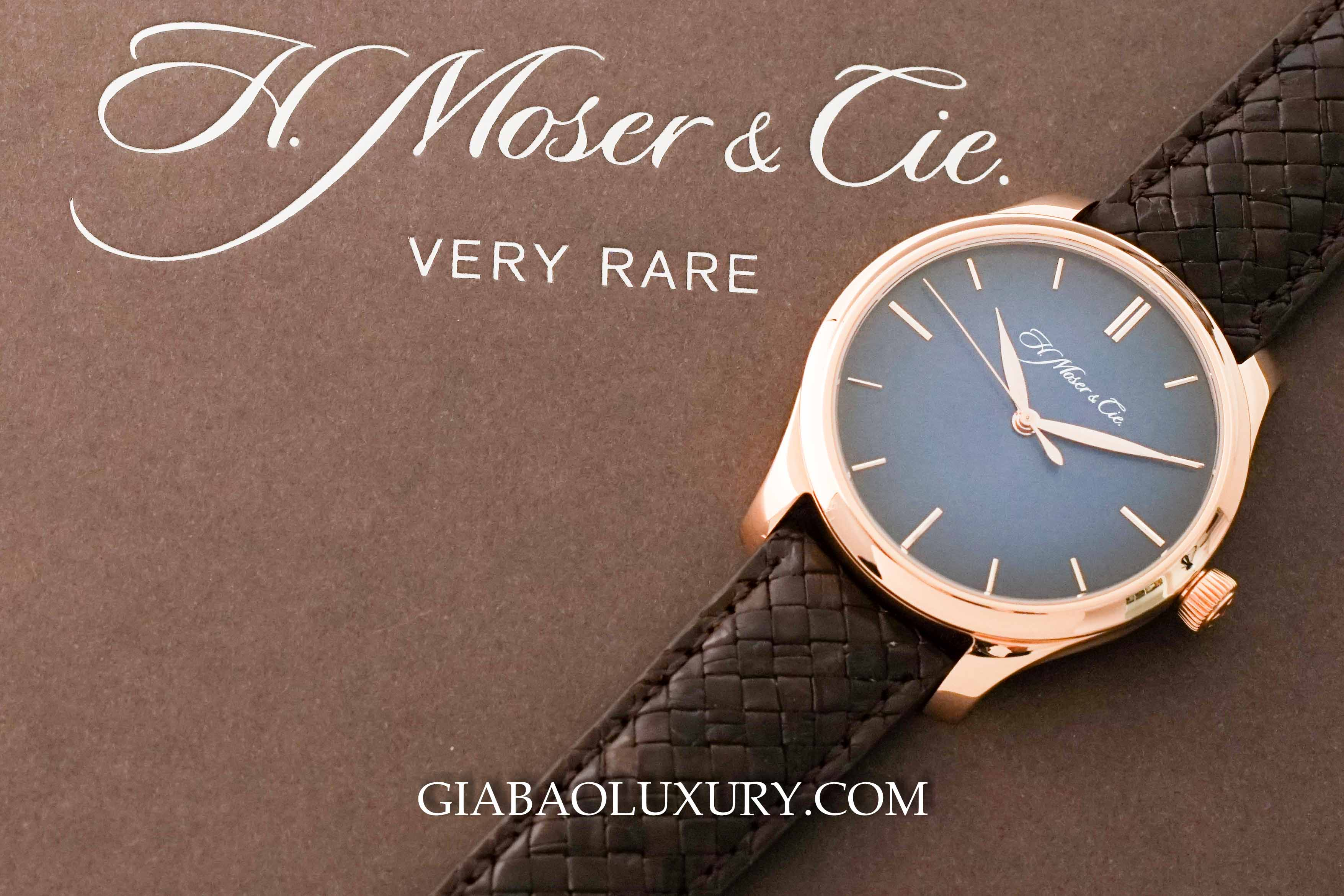 Review đồng hồ H. Moser & Cie Endeavour Centre Seconds Automatic