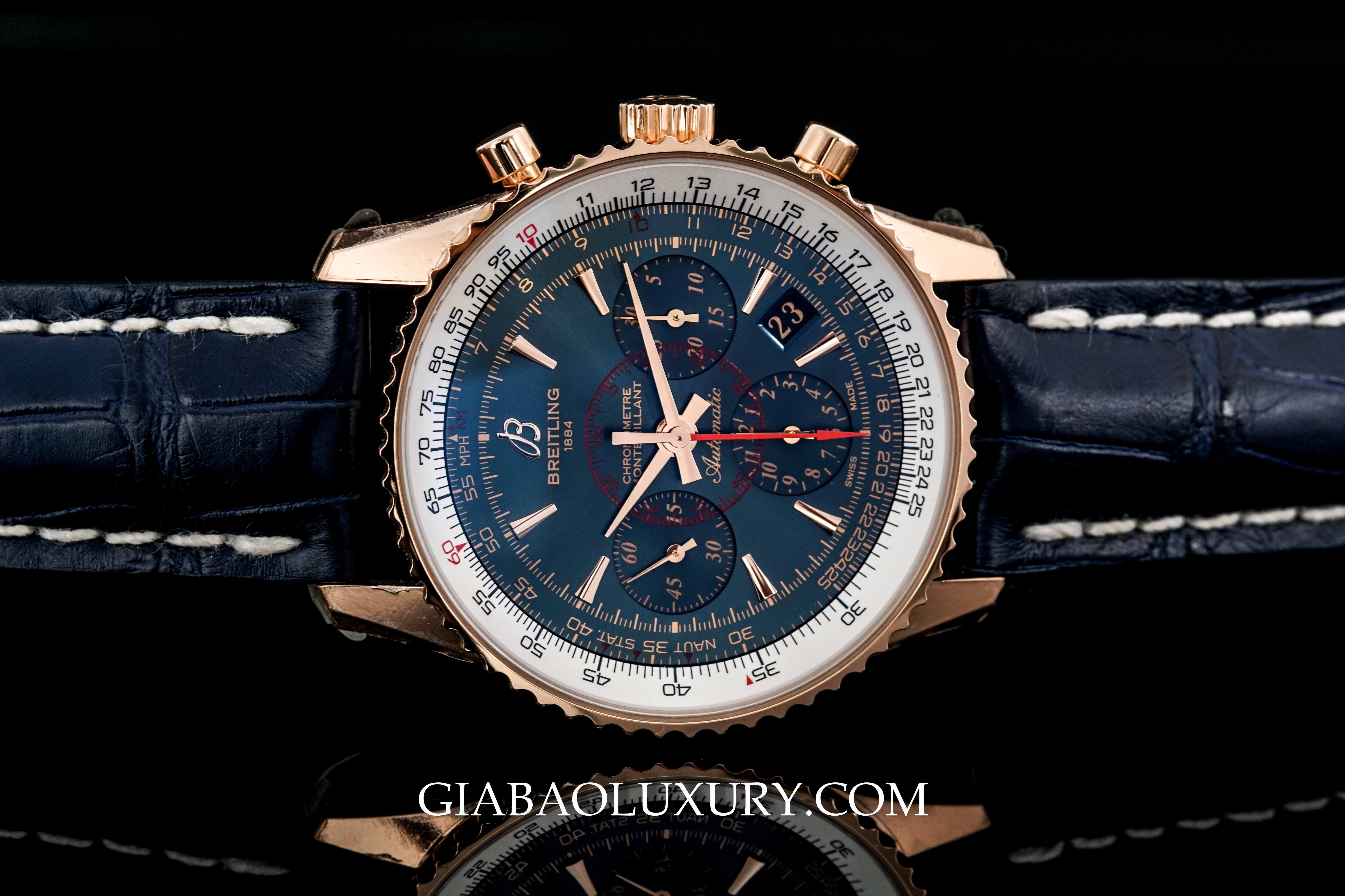 Review đồng hồ Breitling Montbrillant 01