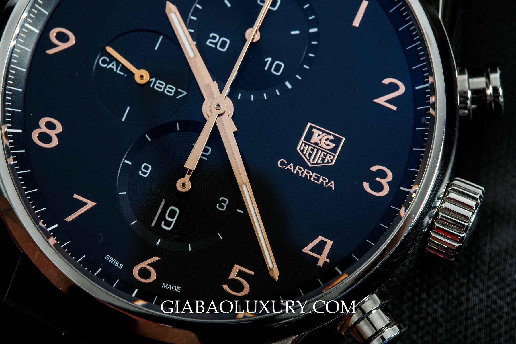 Review đồng hồ TAG Heuer Carrera Calibre 1887 43mm