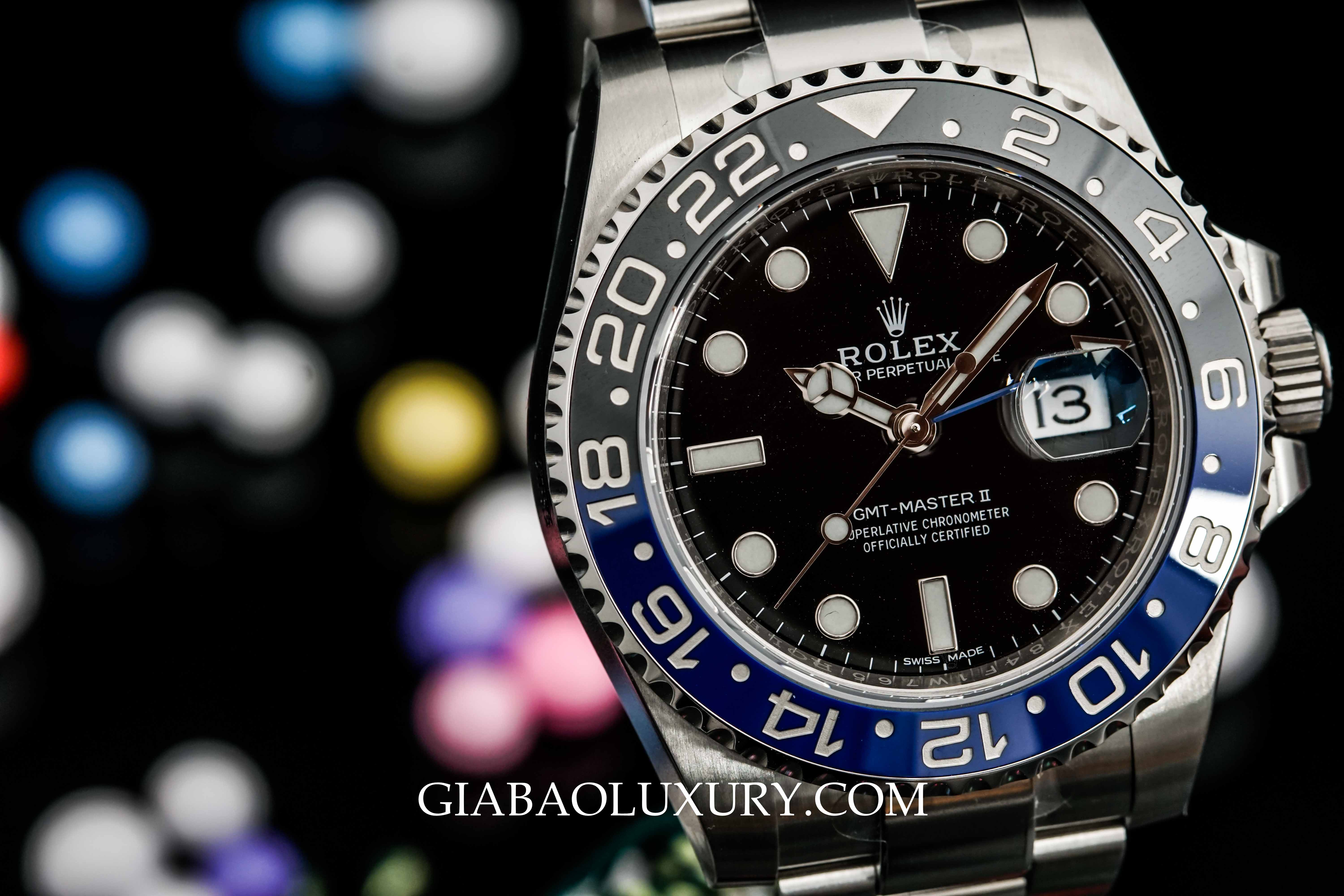 Review đồng hồ Rolex GMT-Master II