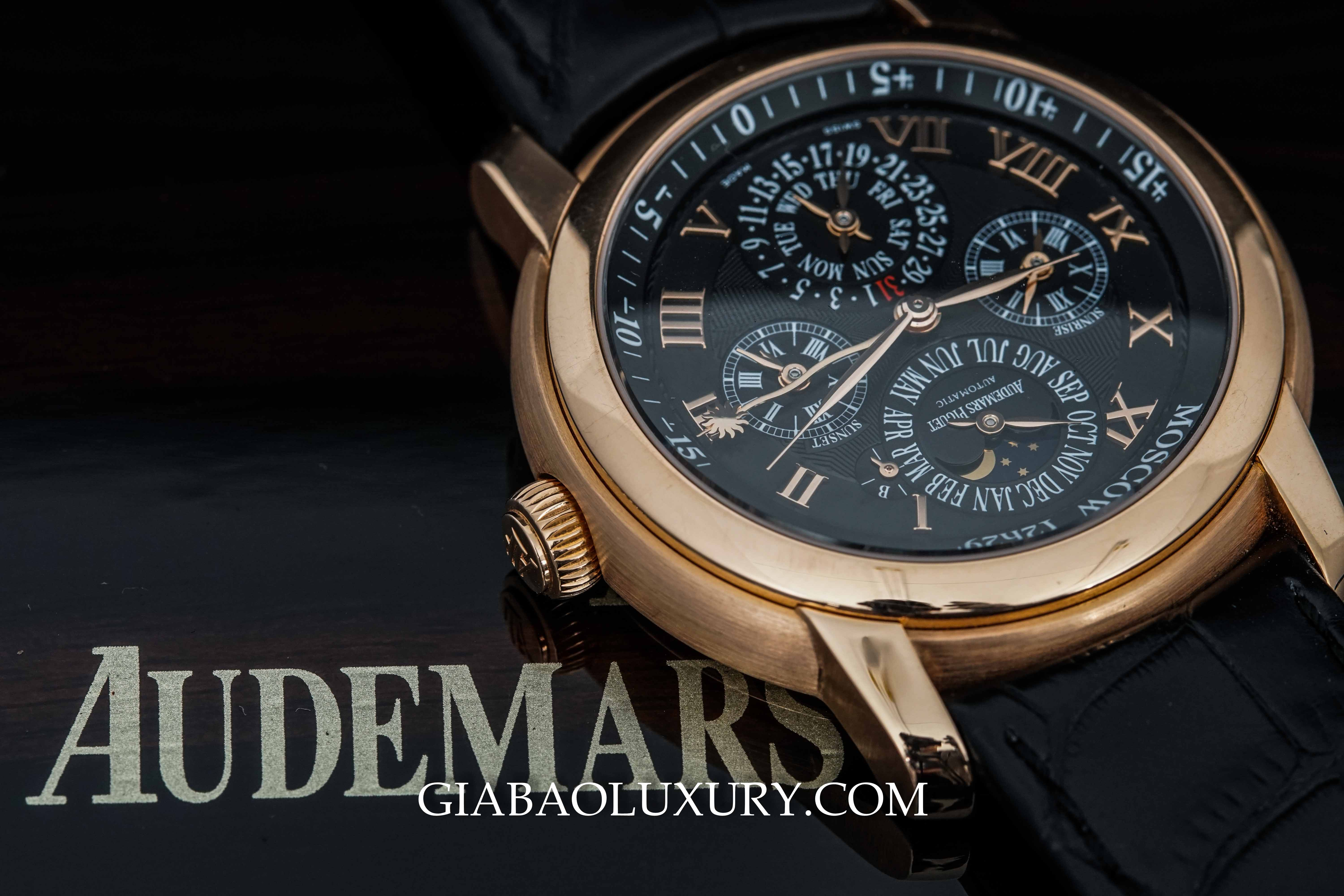 Review đồng hồ Audemars Piguet Jules Audemars Equation of Time
