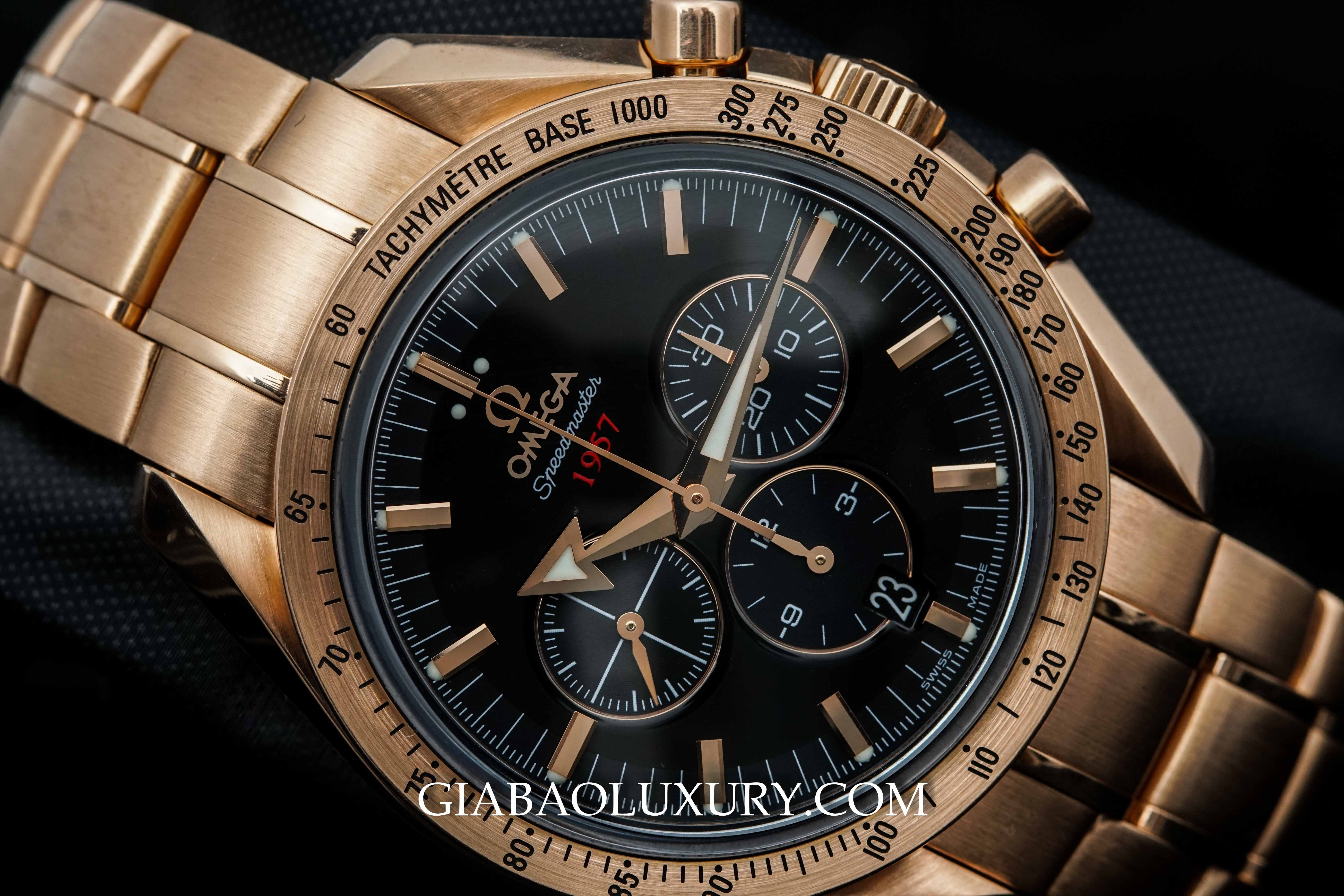 Review đồng hồ Omega Speedmaster Broad Arrow Co-Axial Chronograph 42mm