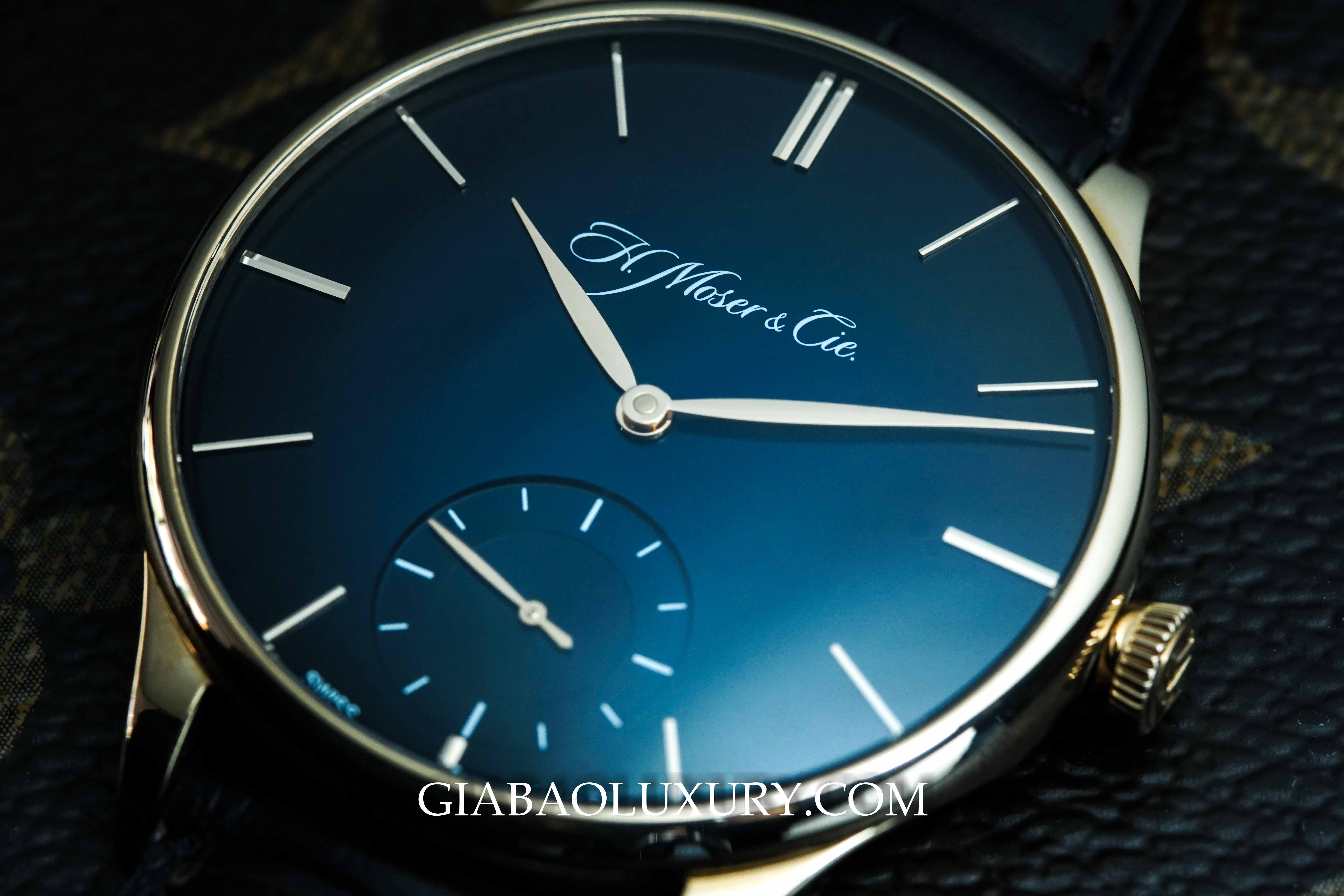 Review đồng hồ H. Moser & Cie Venturer Small Seconds