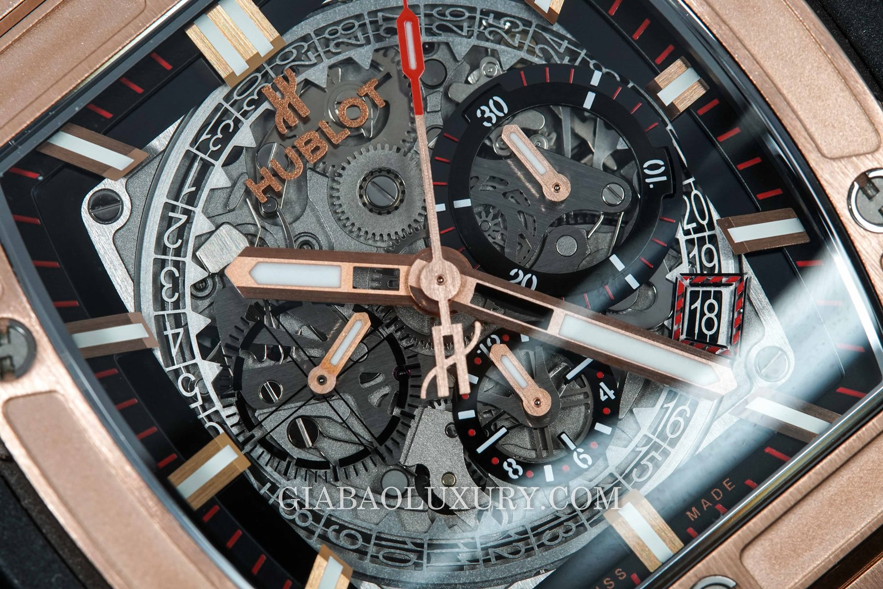 Review đồng hồ Hublot Spirit of Big Bang King Gold