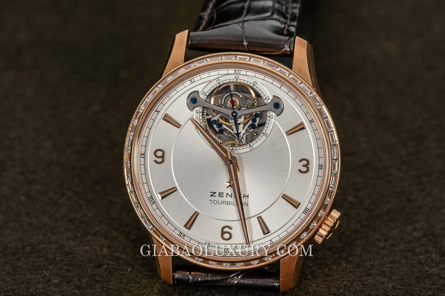 Review đồng hồ Zenith Captain Tourbillon