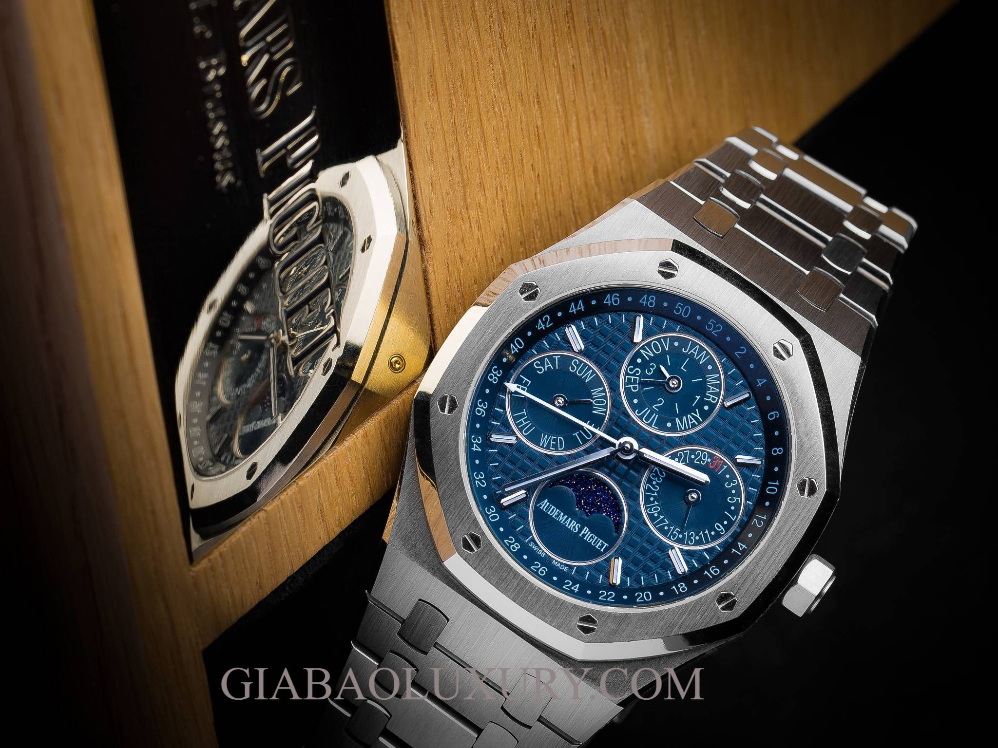 Review đồng hồ Audemars Piguet Royal Oak Perpetual Calendar
