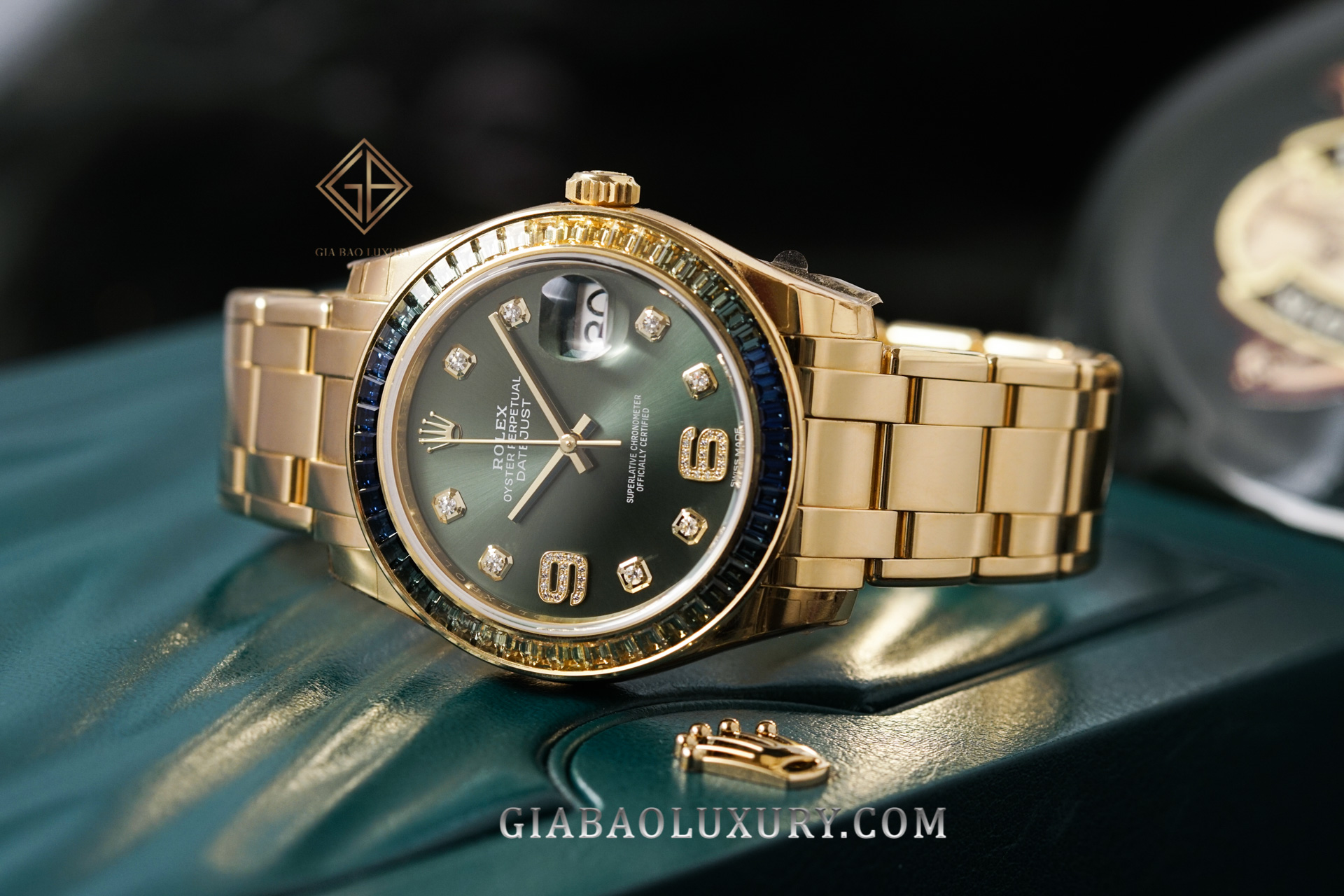 Review đồng hồ Rolex Pearlmaster 86348SABLV