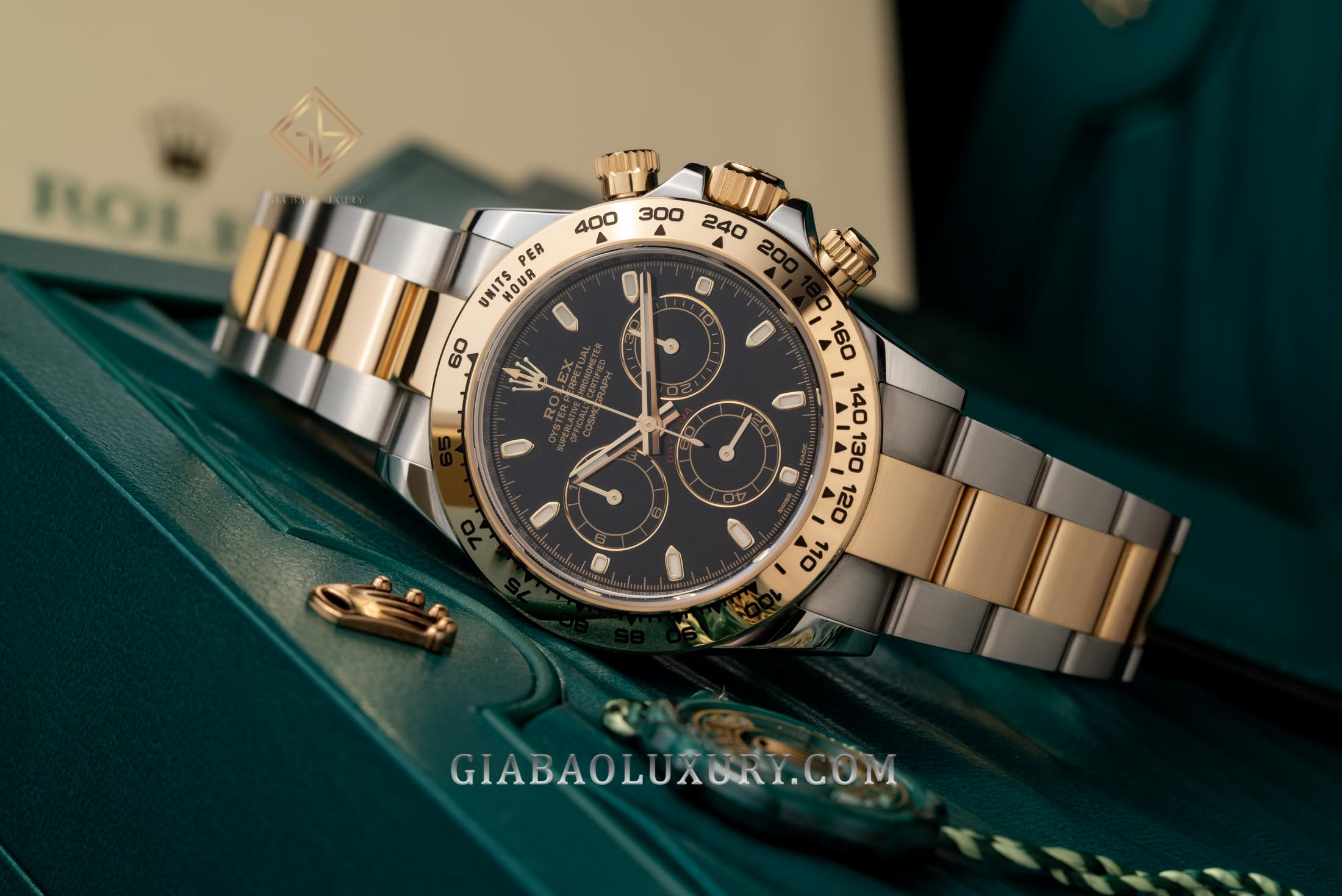 Review đồng hồ Rolex Cosmograph Daytona 116503