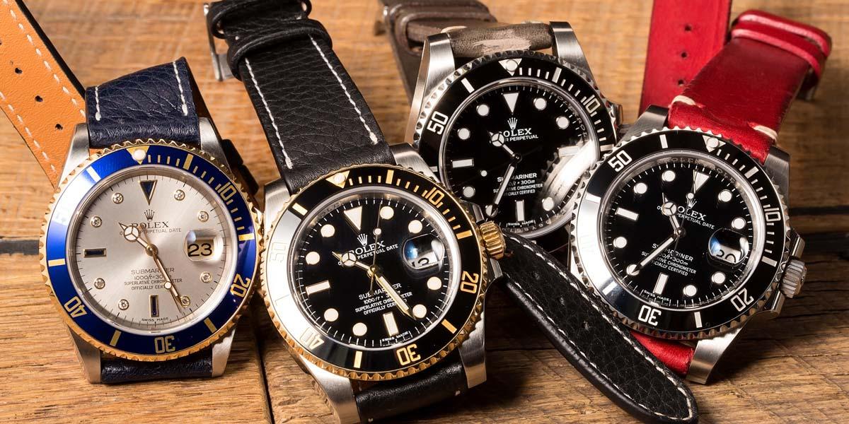 Những loại vành bezel trên đồng hồ Rolex Submariner