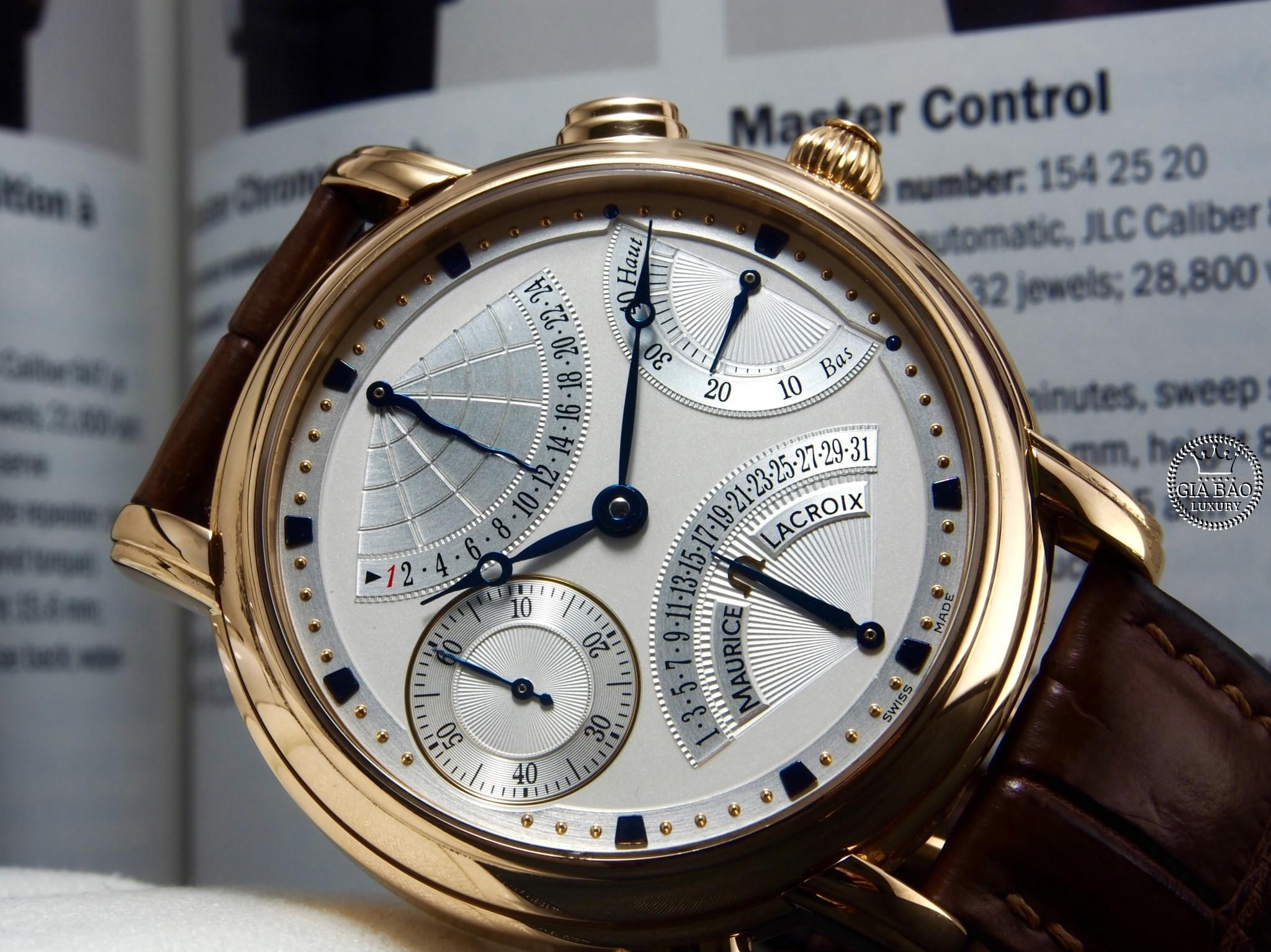 giabaoluxury-Maurice Lacroix Masterpiece double retrograde MP