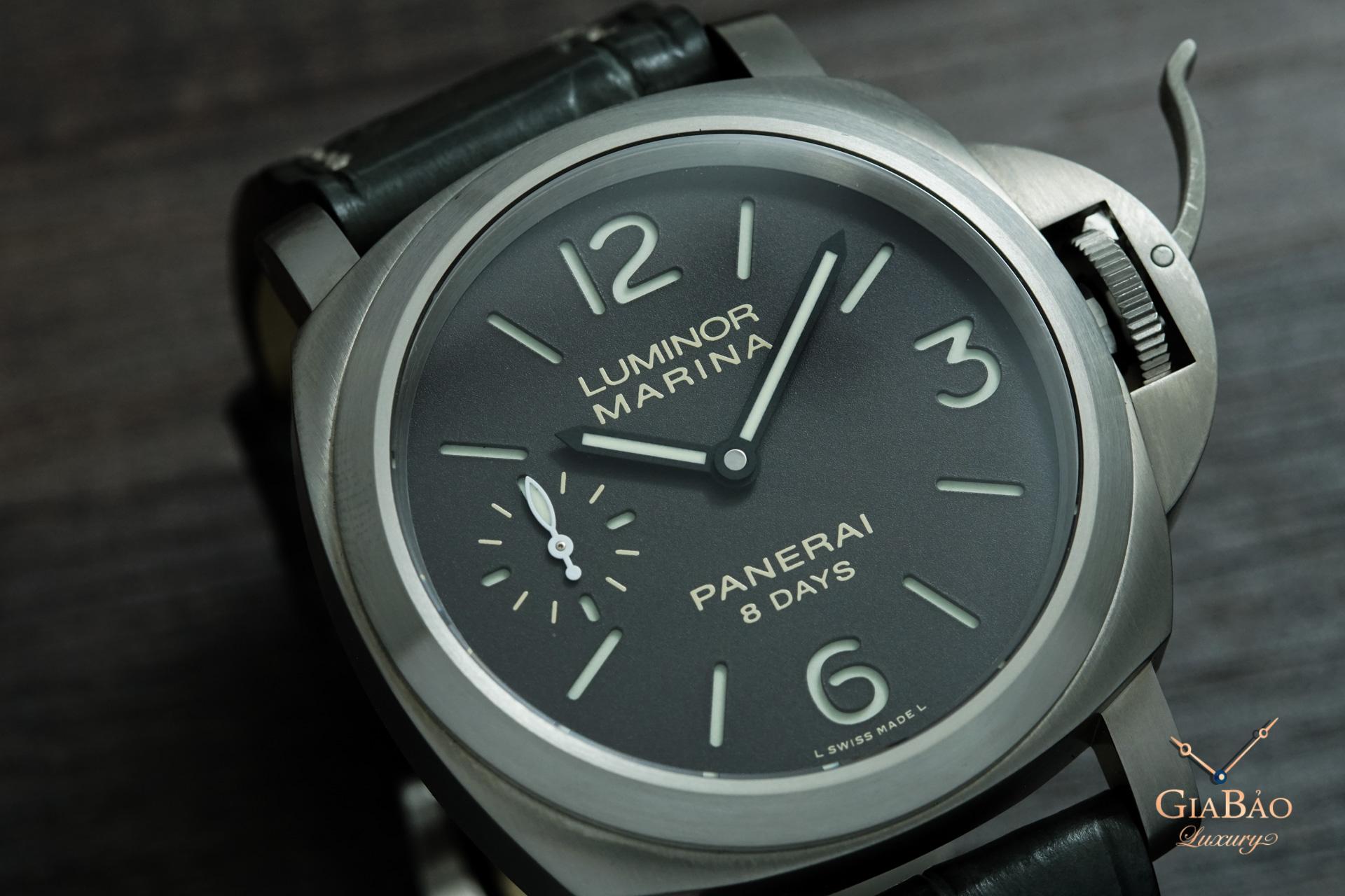 Review đồng hồ Panerai Luminor Marina 8 Days 44mm PAM00564