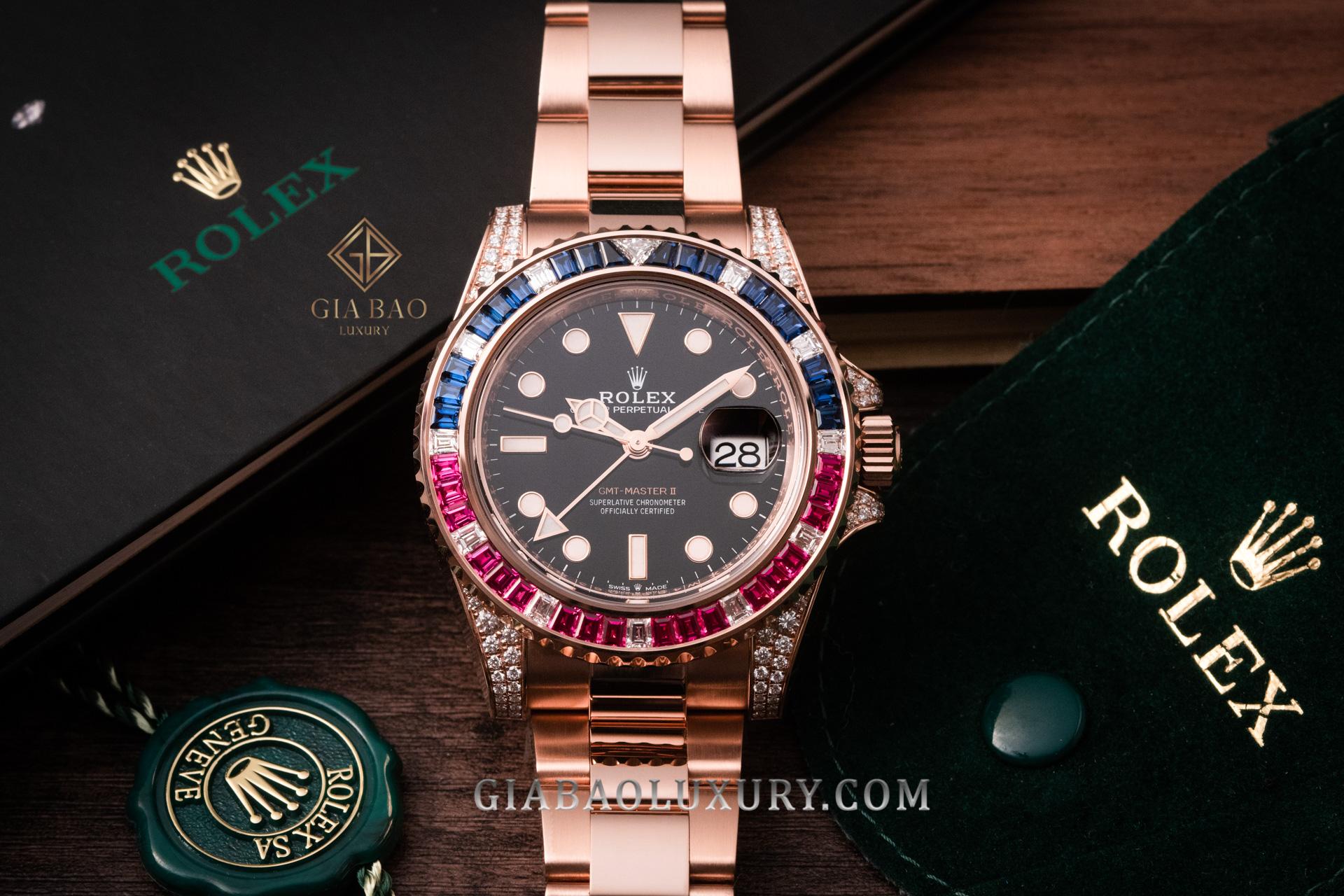 Đồng Hồ Rolex GMT-Master II 126755 SARU