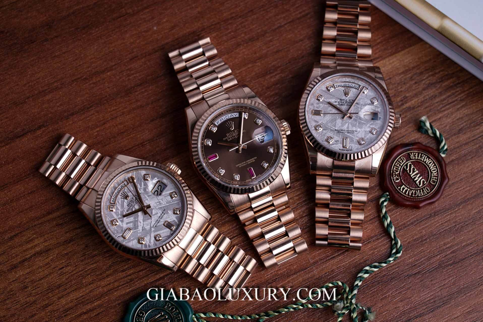 Review đồng hồ Rolex Day-Date 118235