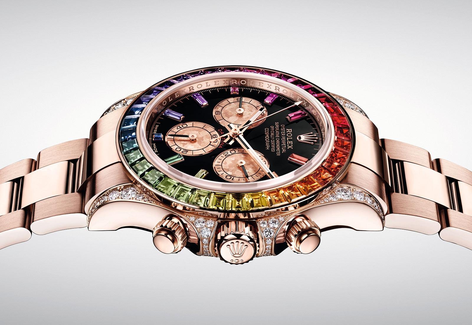 "Baselworld 2018: Rolex giới thiệu mẫu đồng hồ Daytona ""Rainbow"" Everose"