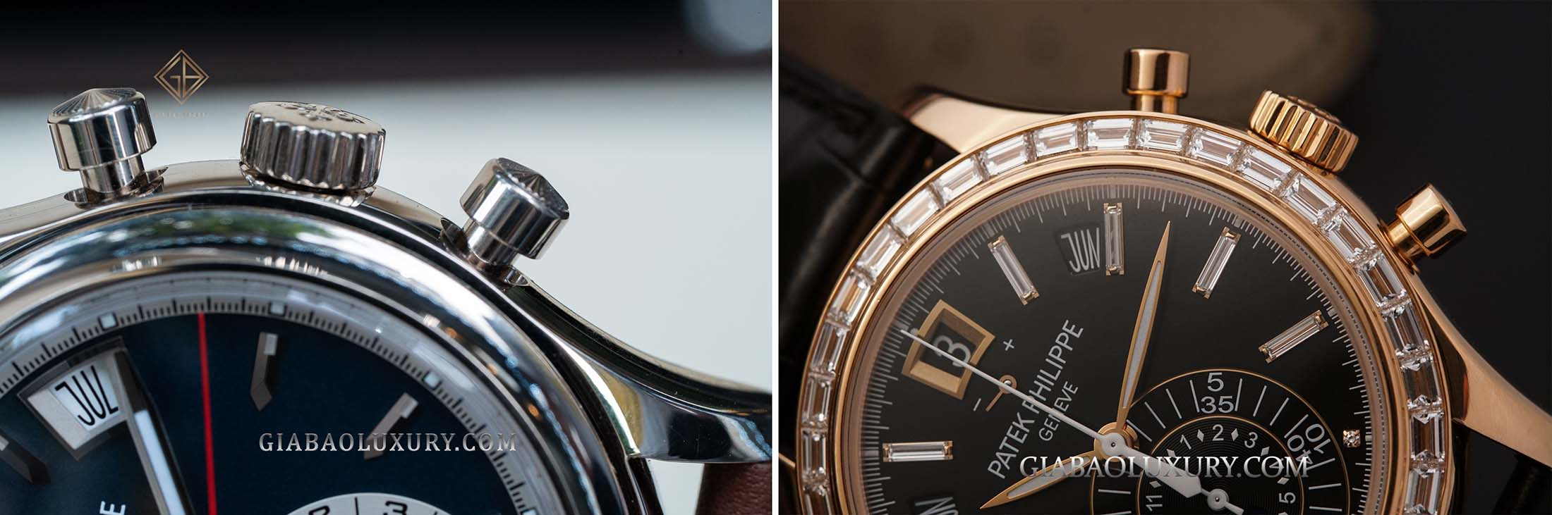 So sánh 2 mẫu đồng hồ Patek Philippe Complications 5960/01G và 5961R