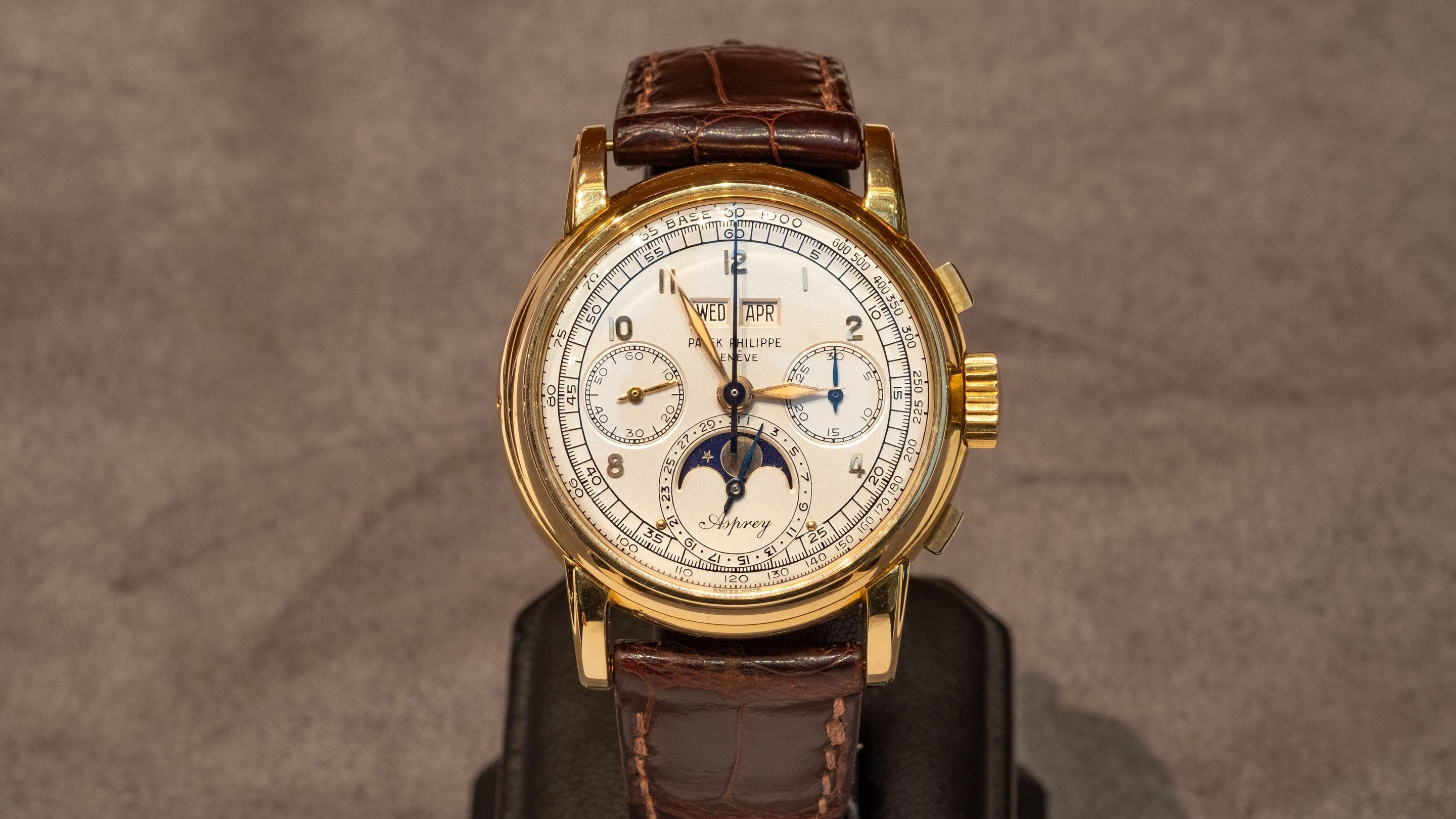 Patek Philippe 2499 The Asprey