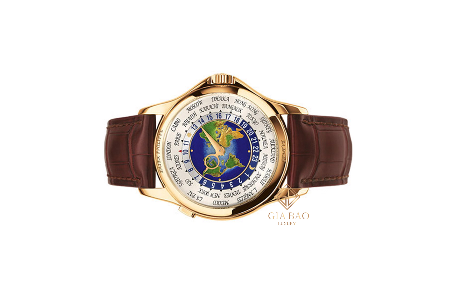 Đồng Hồ Patek Philippe Complications World Time 5131J-001