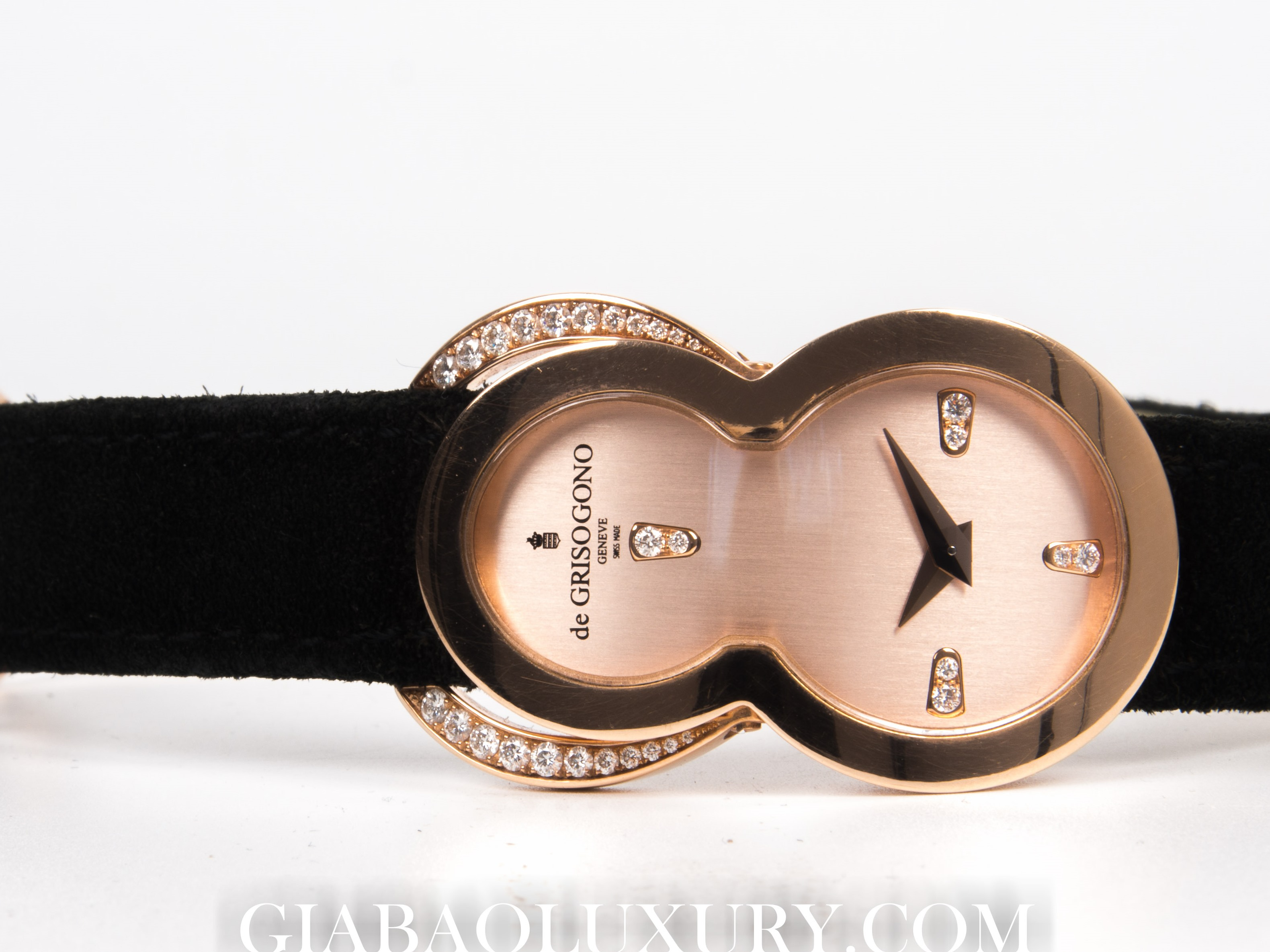 Đồng Hồ De Grisogono Be Eight 18k Rose Gold