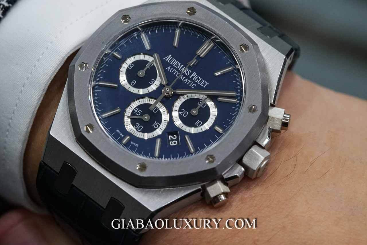 Đồng Hồ Audemars Piguet Royal Oak Chronograph Leo Messi Platinum