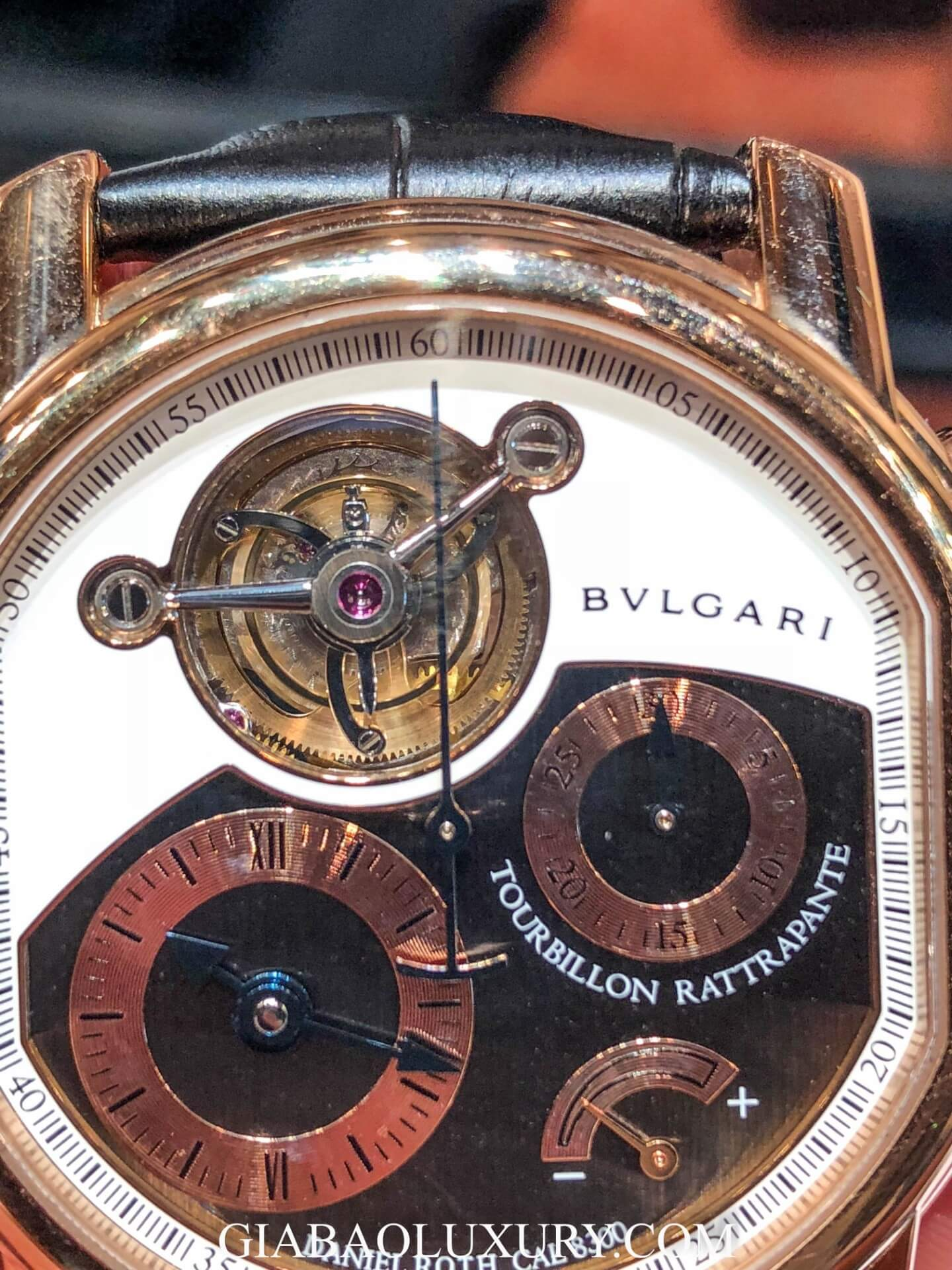 Đồng Hồ Bulgari Daniel Roth Split Seconds Chronograph Tourbillon