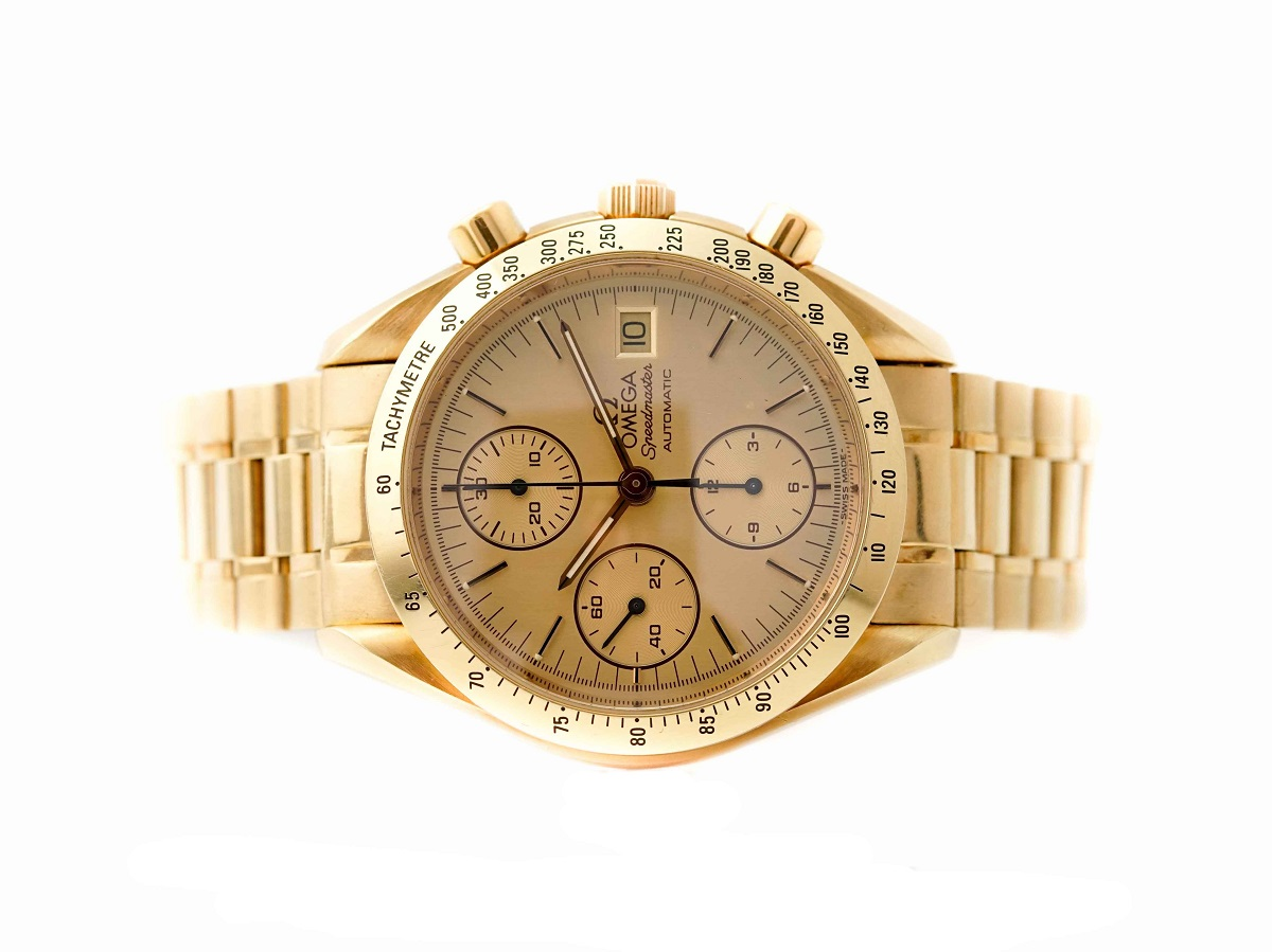 Đồng Hồ Omega Speedmaster Moonwatch Yellow Gold 39mm