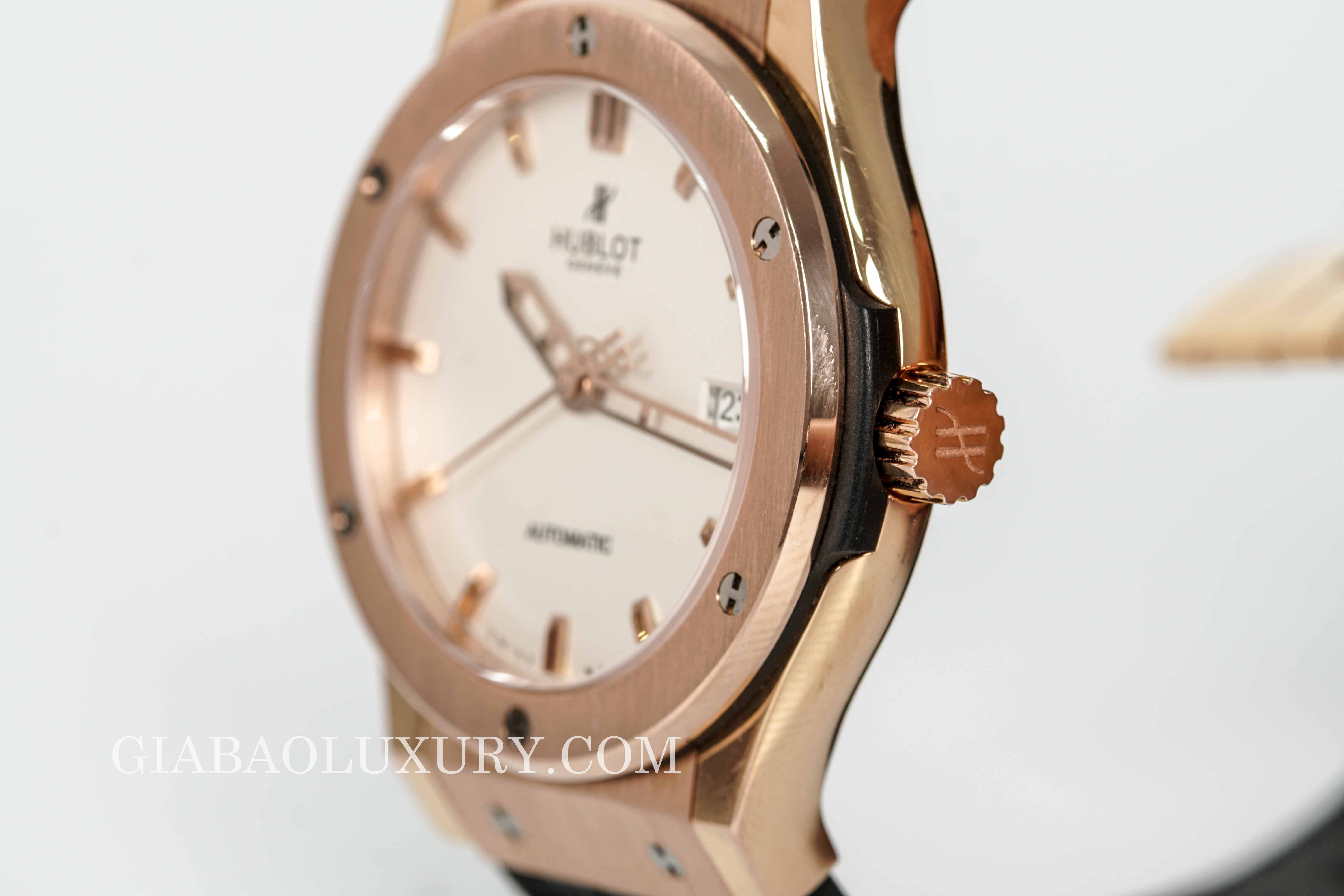 Đồng Hồ Hublot Classic Fusion King Gold Opalin 42mm 542.OX.2610.LR