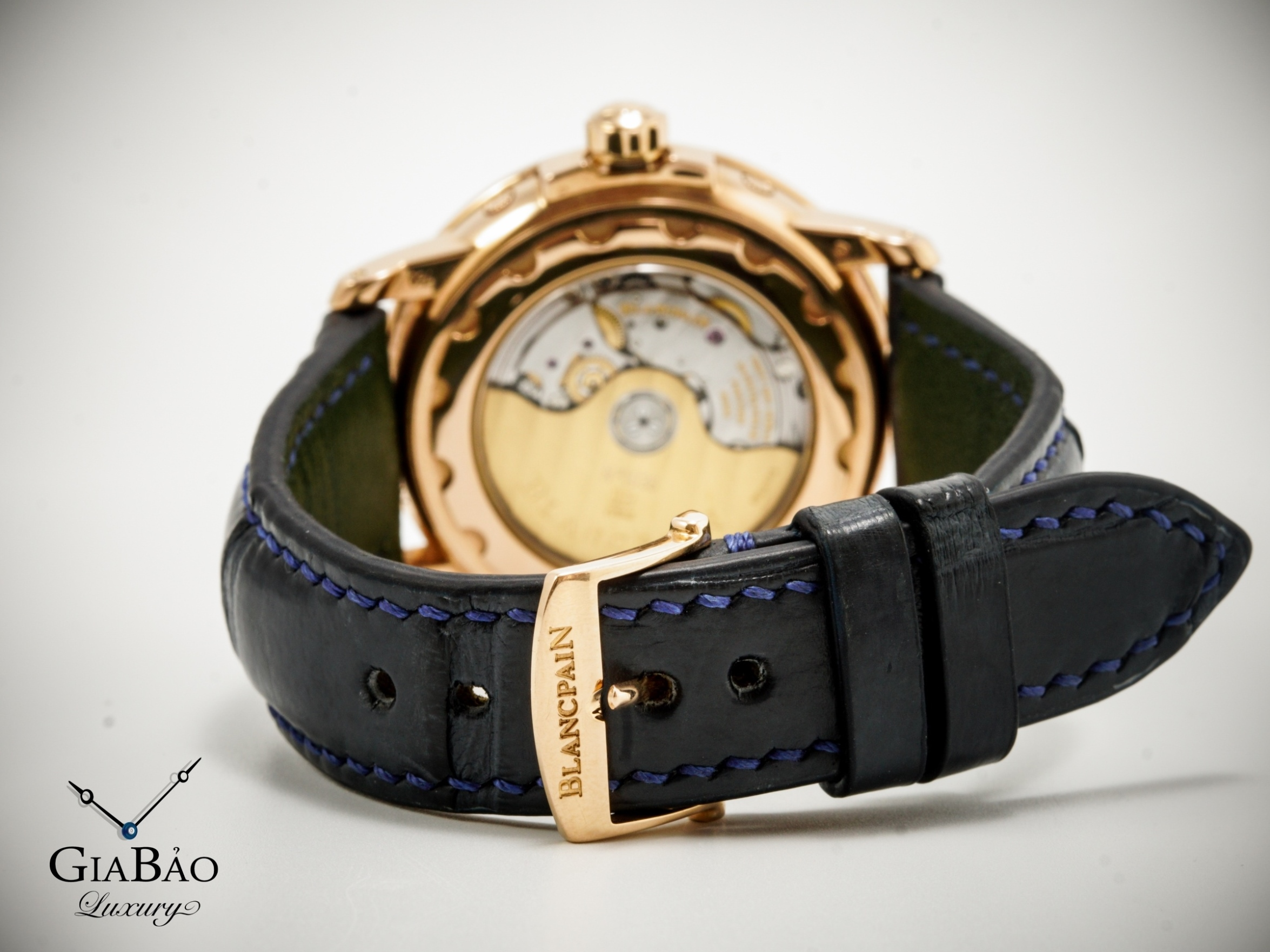 ĐỒNG HỒ BLANCPAIN LESMAN MOONPHASE COMPLETED CALENDAR