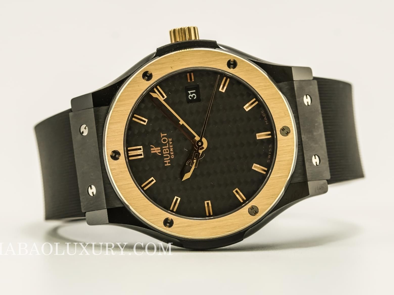 Đồng Hồ Hublot Classic Fusion Ceramic King Gold 42mm 542.CO.1780.RX