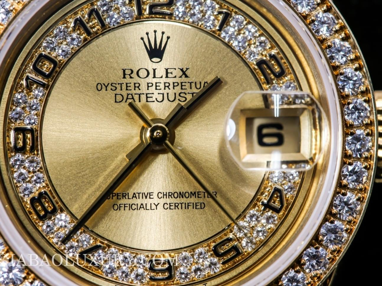 đồng hồ rolex oyster perpetual lady datejust 69158