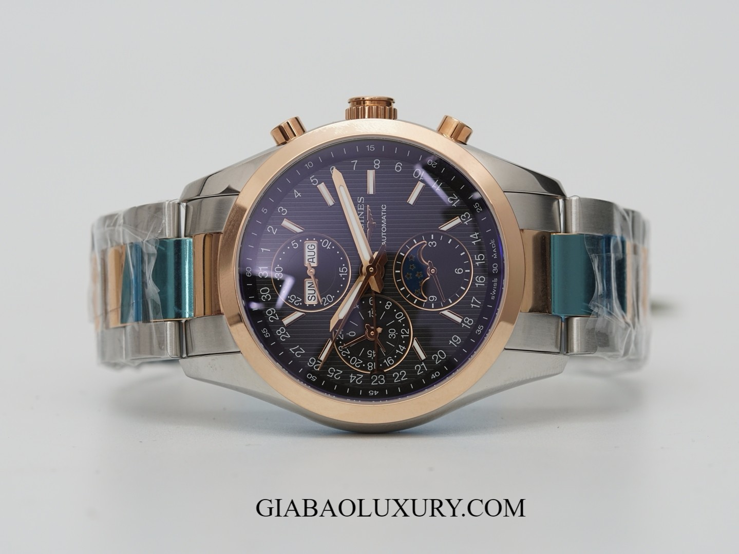 Đồng Hồ Longines Conquest Classic Chronograph Moonphase L2.798.5.52.7