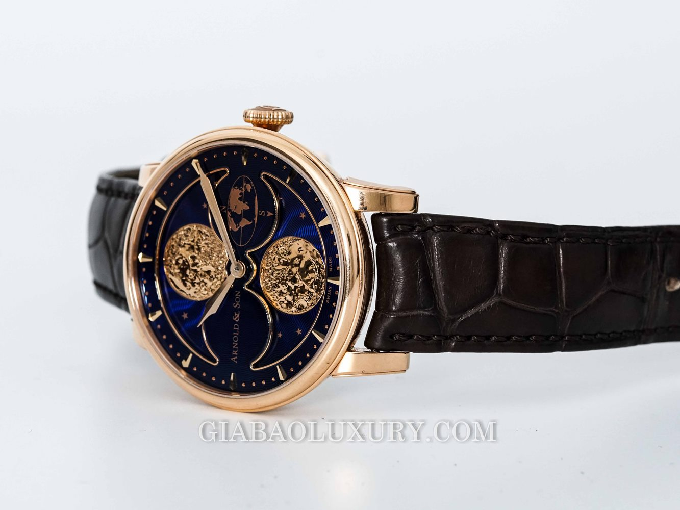Đồng Hồ Arnold & Son Double Hemisphere Perpetual Moon