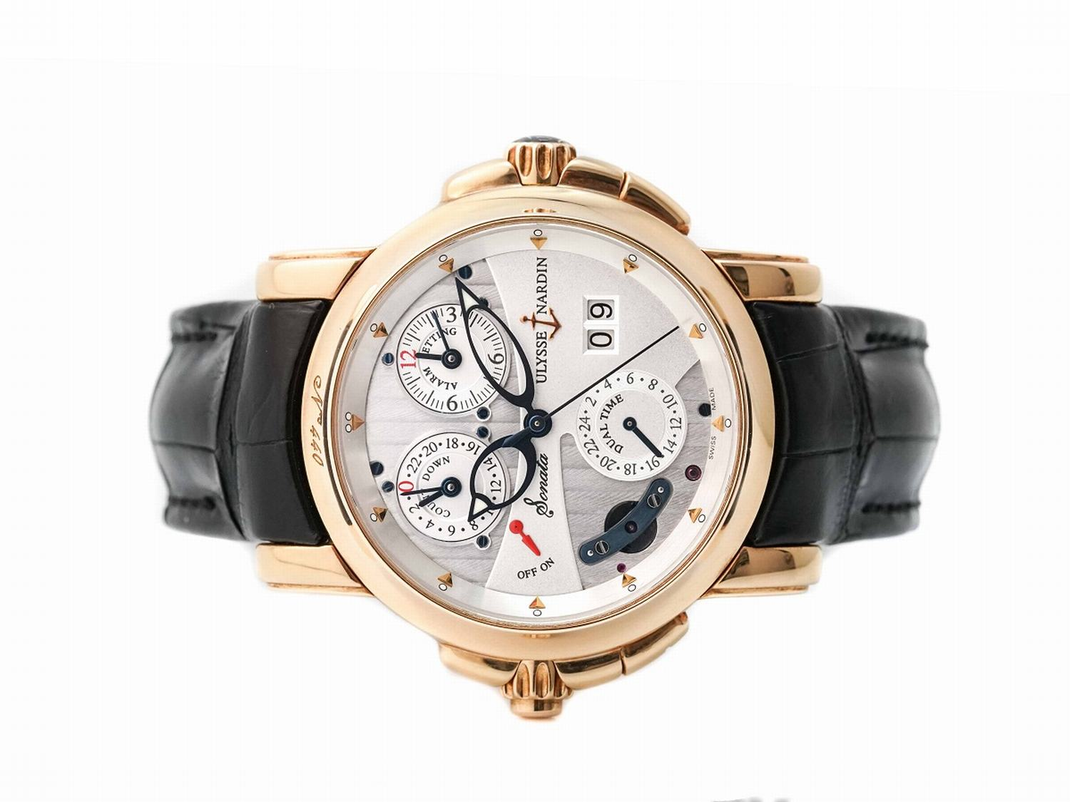Đồng Hồ Ulysse Nardin Sonata Cathedral Dual Time 676-88