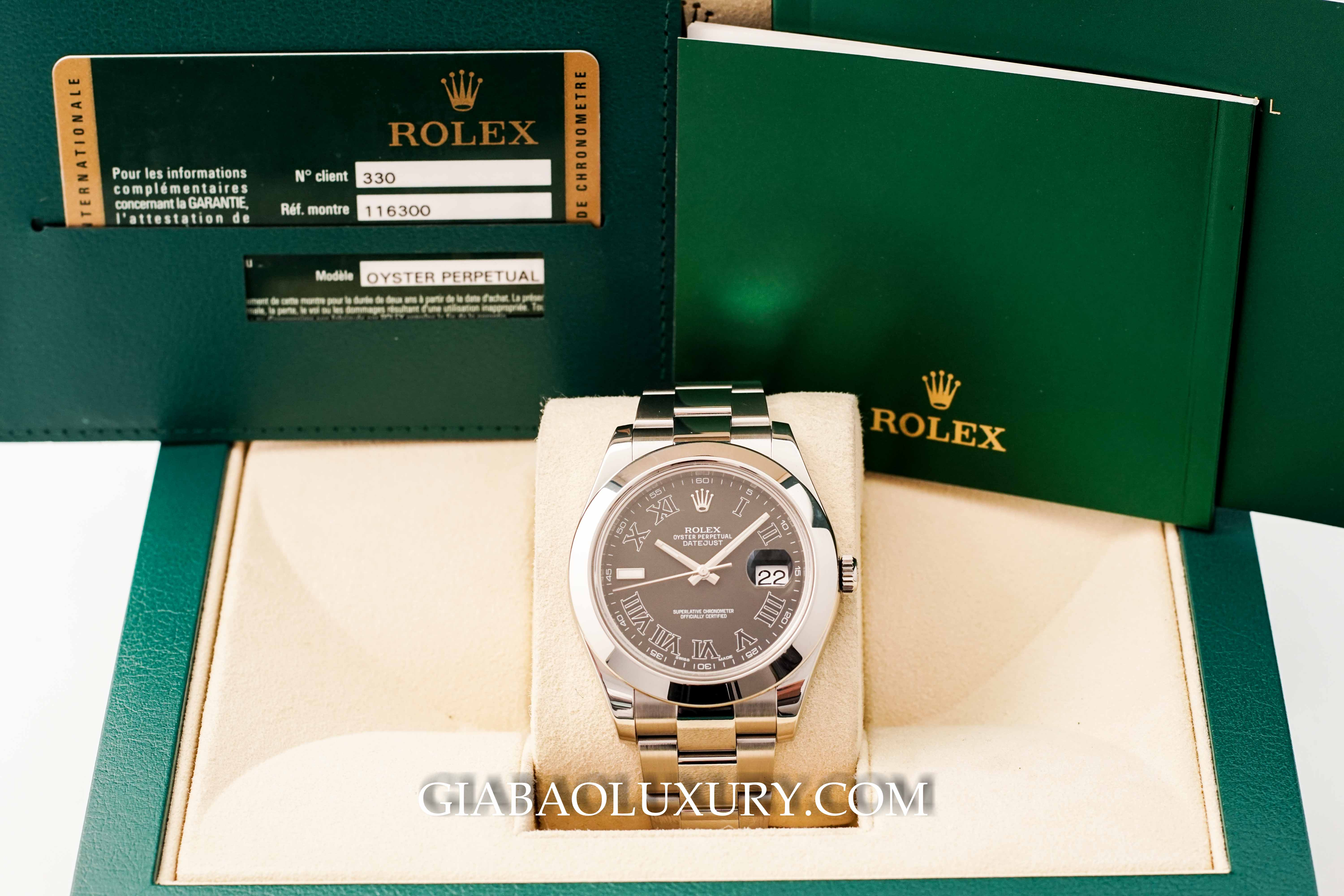 Đồng Hồ Rolex Oyster Perpetual Datejust 116300