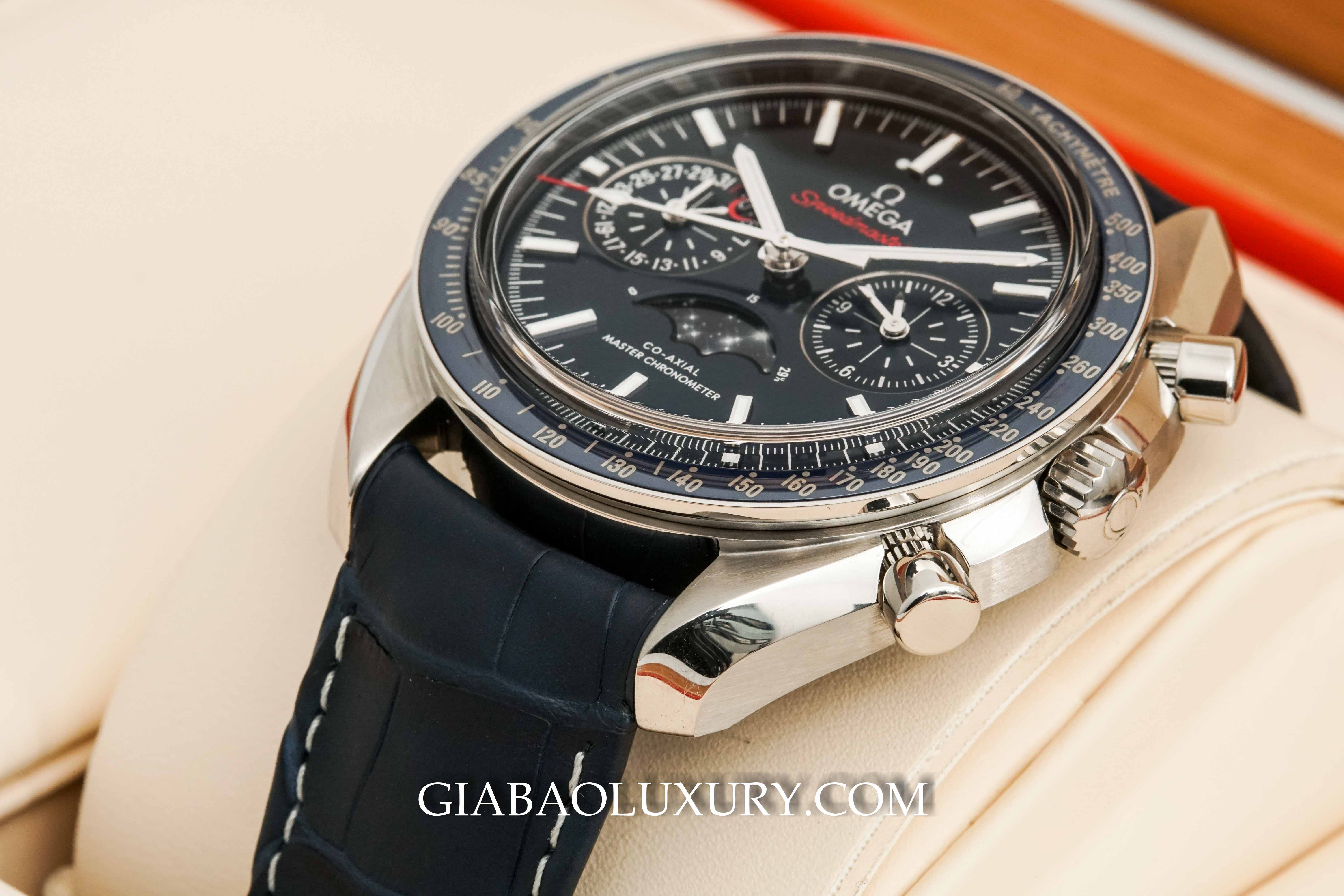 Đồng Hồ Omega  Speedmaster Moonwatch Co-Axial Master Chronometer Moonphase Chronograph 44.25mm 304.33.44.52.03.001